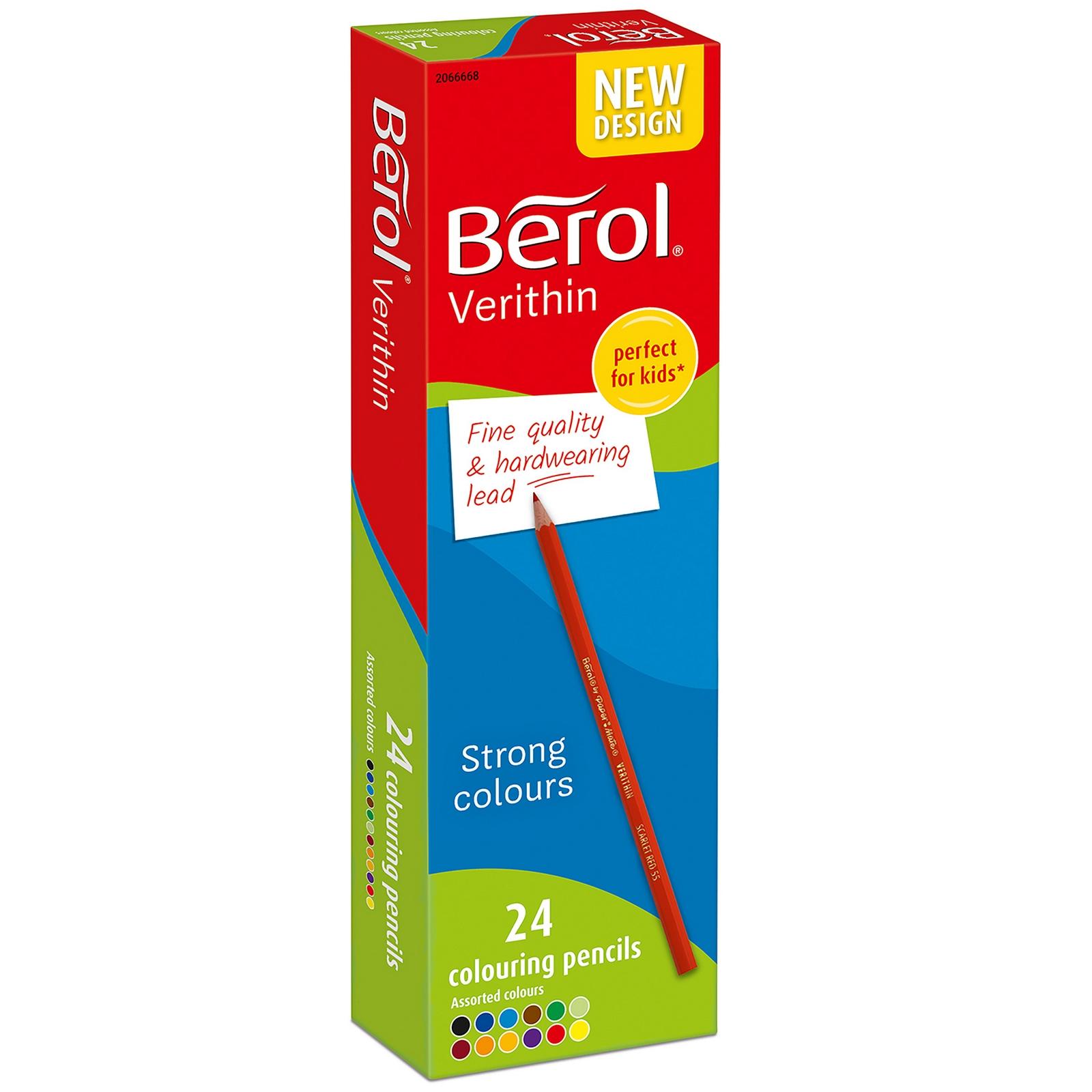Berol Verithin Pencils Pack 144