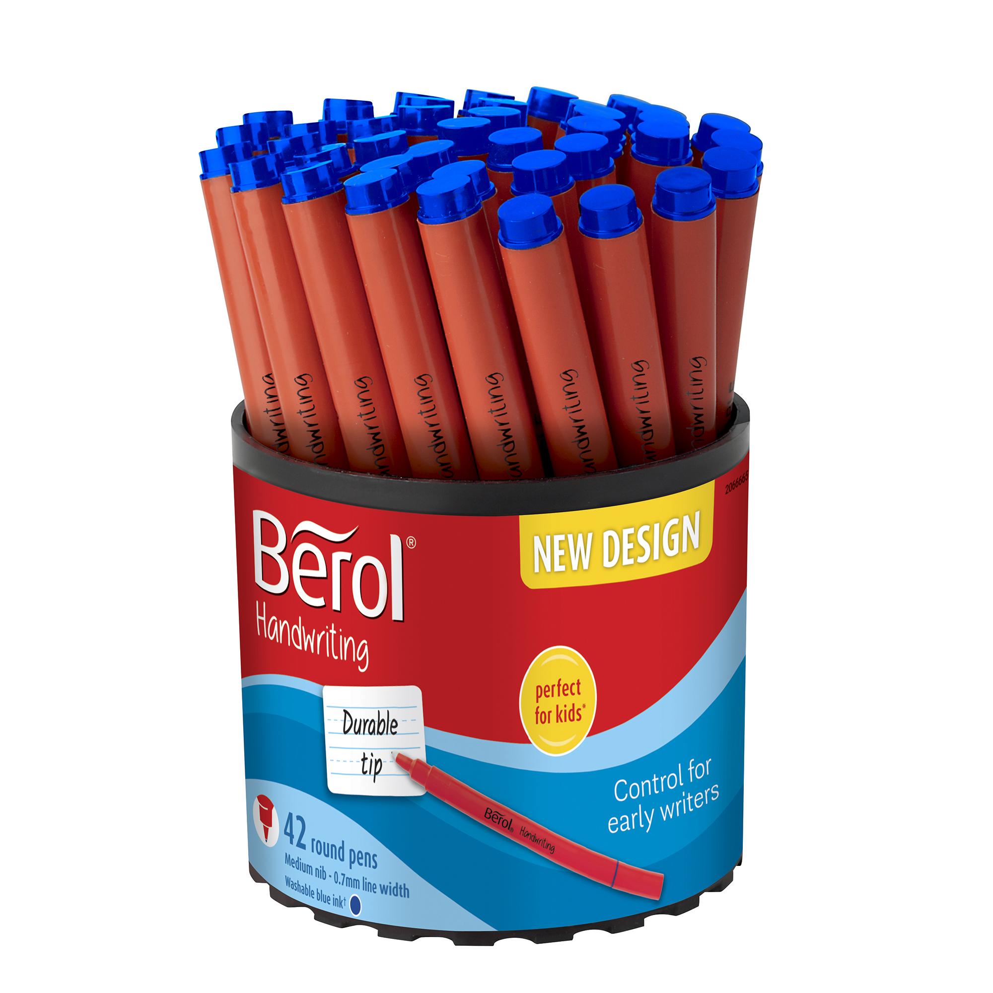 Berol Blue Cartridge Handwriting Pen New Arrivals Brand New