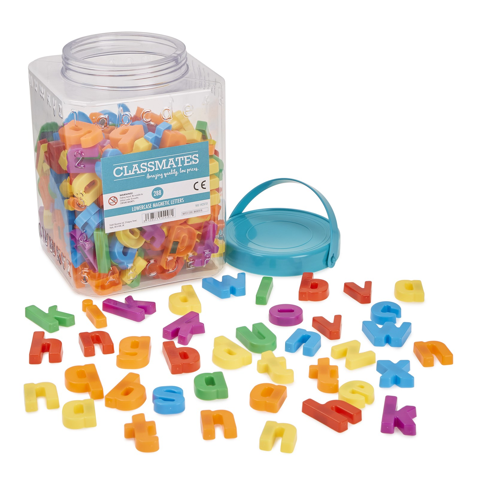 Magnetic Letters (Lowercase) - Pack of 288