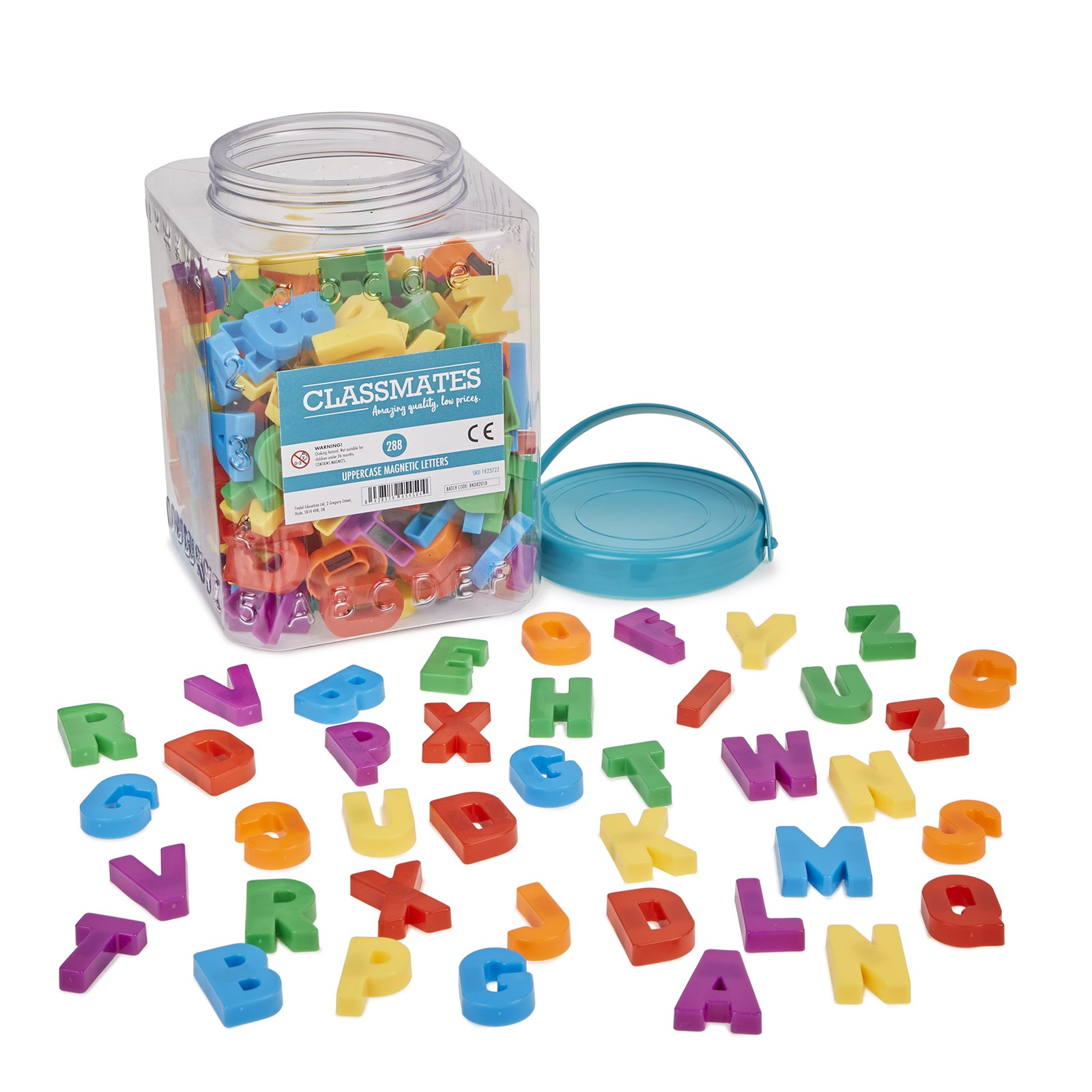 Magnetic Letters (Uppercase) - Pack of 1152