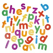 Giant Lowercase Magnetic Letters
