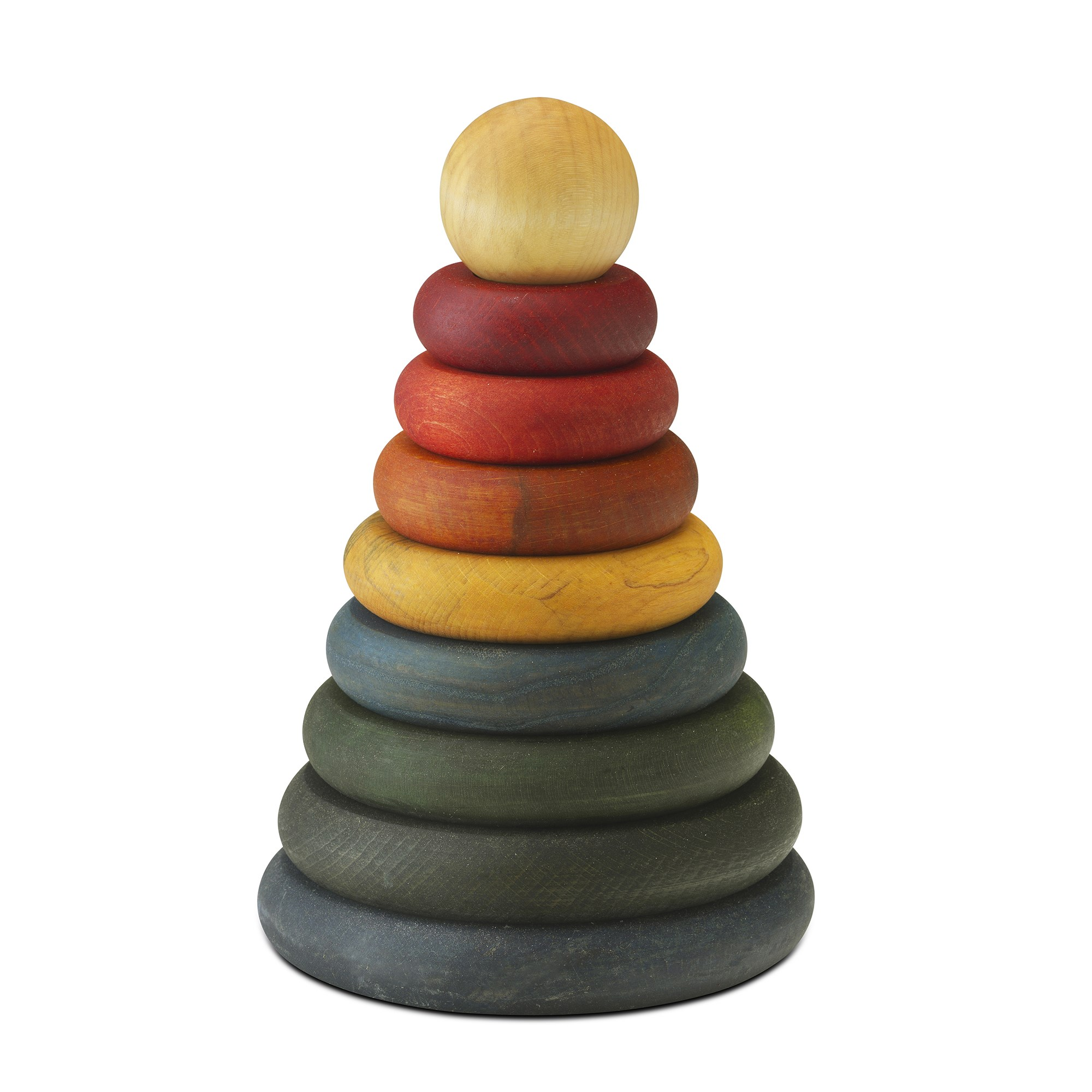 Wooden Stacker - Coloured