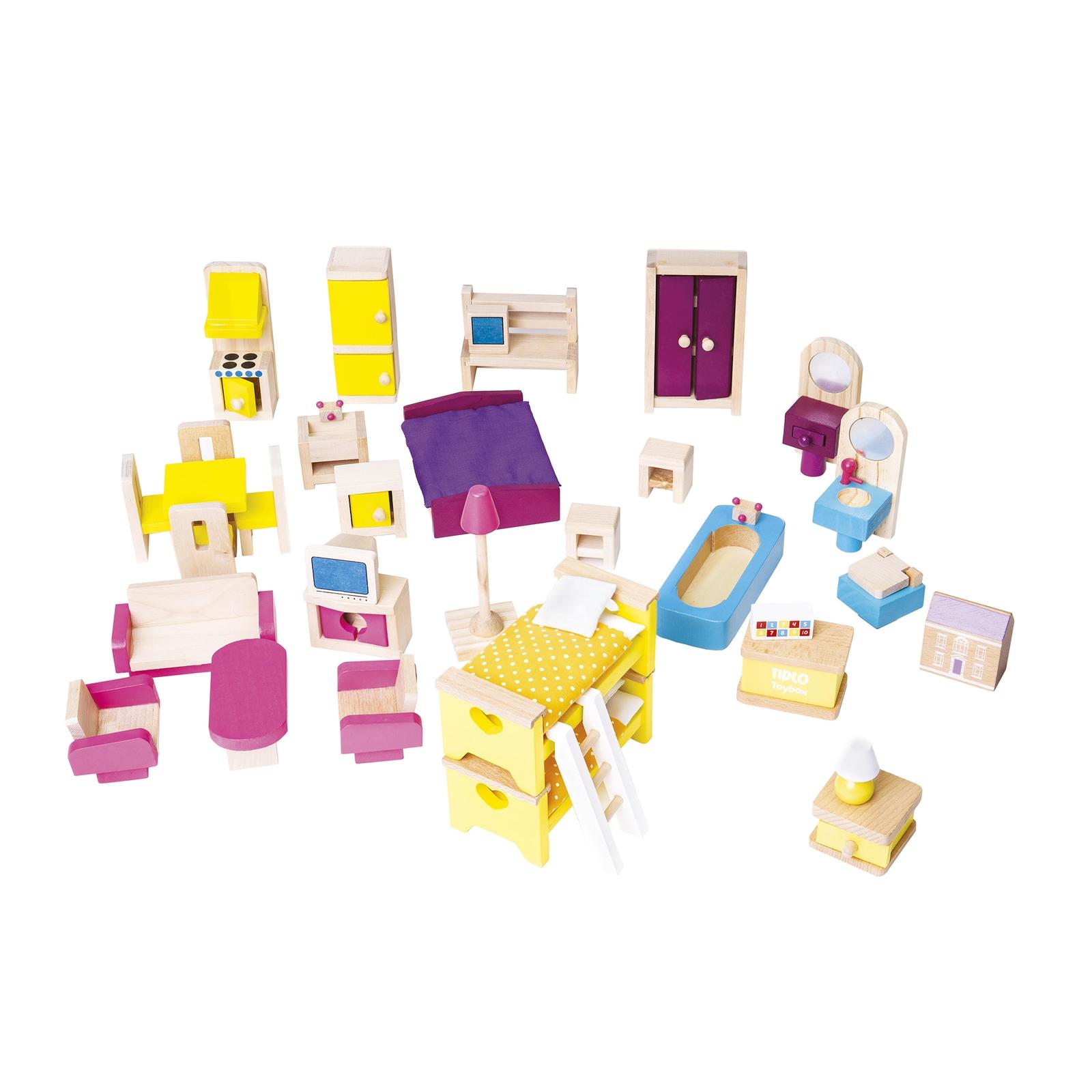 Bigjigs Toys Dolls Furniture Set