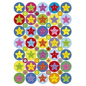 Star Stickers 24mm and 10mm