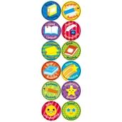 Literacy Stickers 24mm
