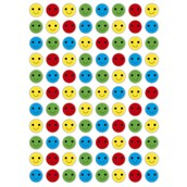 Smiley Face Stickers 15mm