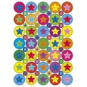 Combination Pack of Stickers 24mm and 10mm.