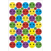 Bumper Pack of Smiley Stickers 24mm and 10mm