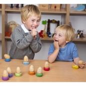 Wooden Emotion Eggs