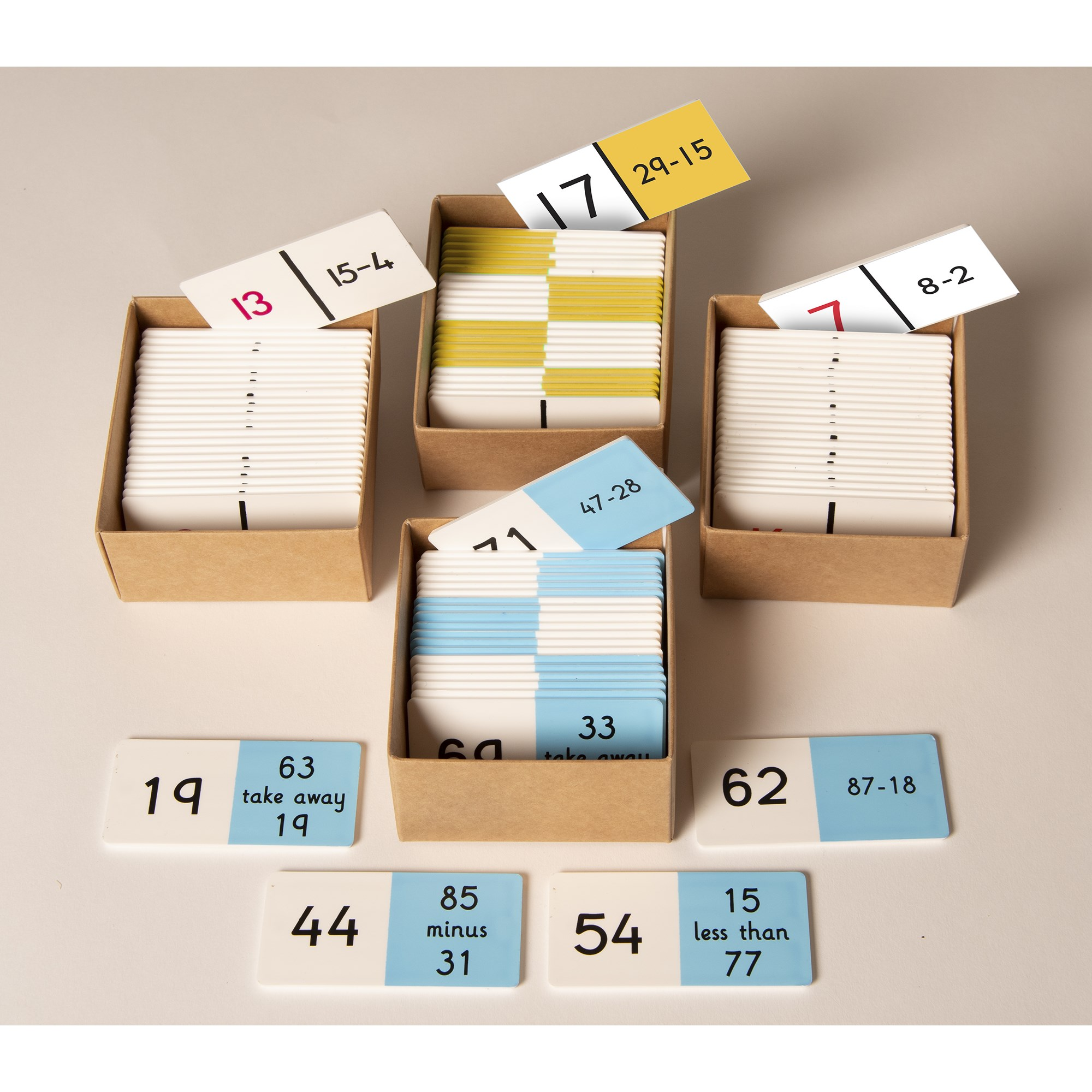 Maths Mastery Subtraction Set