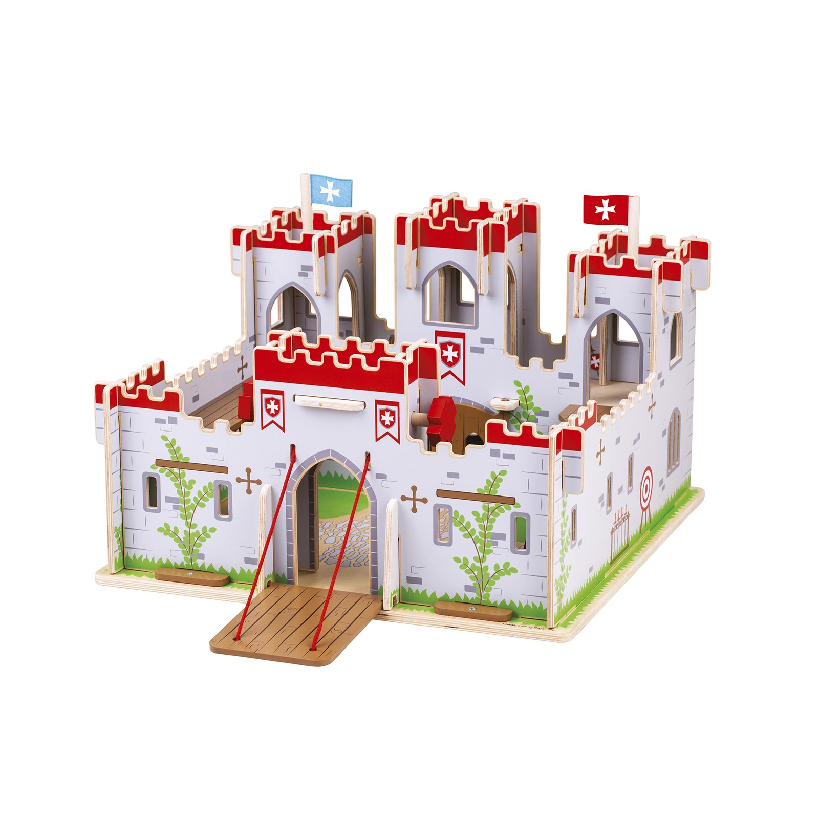 Bigjigs Toys King George's Castle with Knights