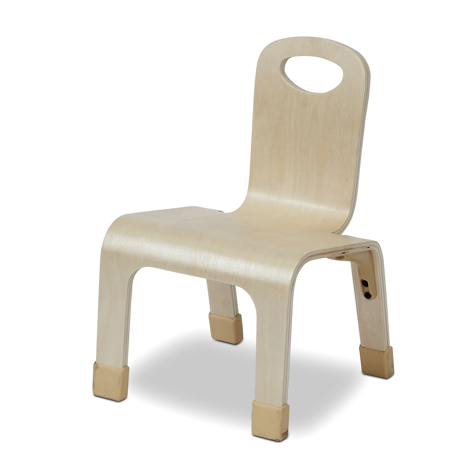 Playscapes One Piece Wooden Chair (pack 4) - 210mm
