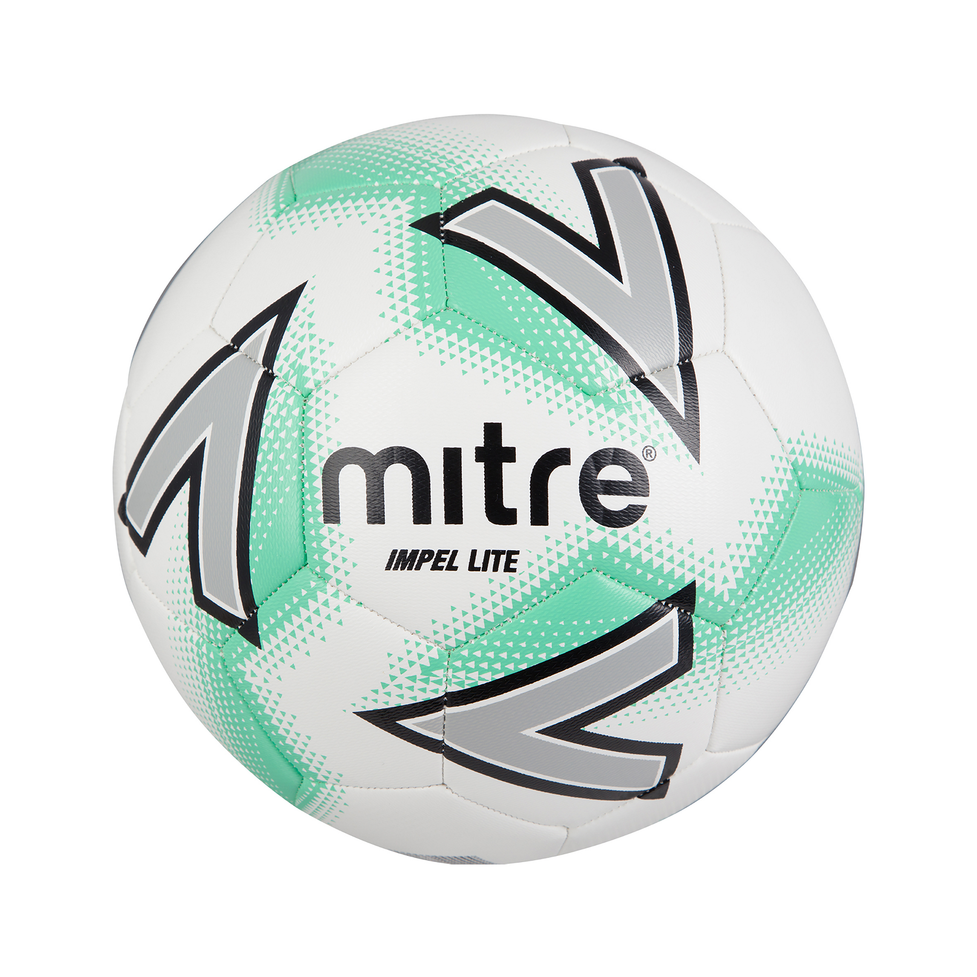 acaf9eccf1b Mitre Impel Lite 360 Football - Size 5 - White Green