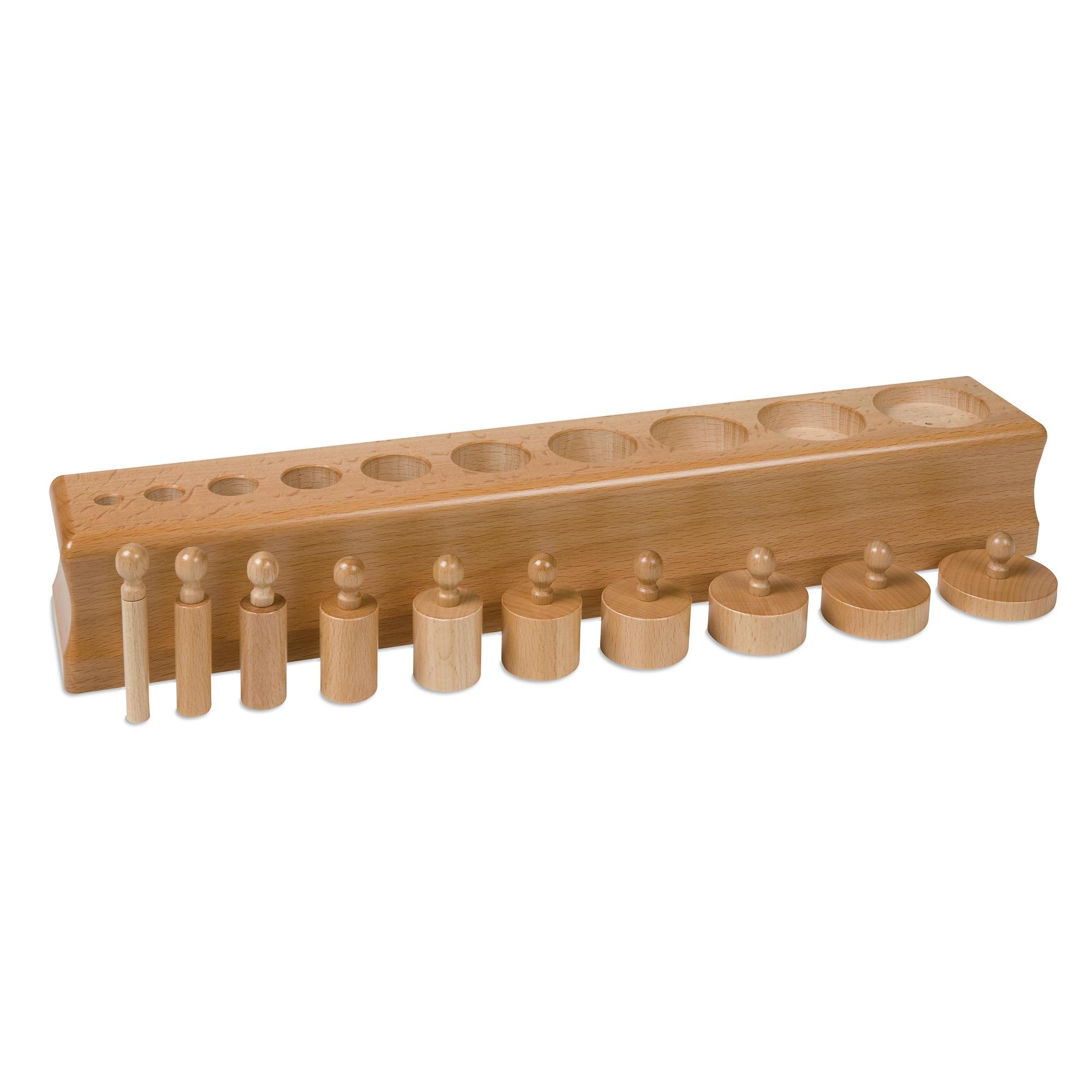 Three Cylinder Block Size Discrimination