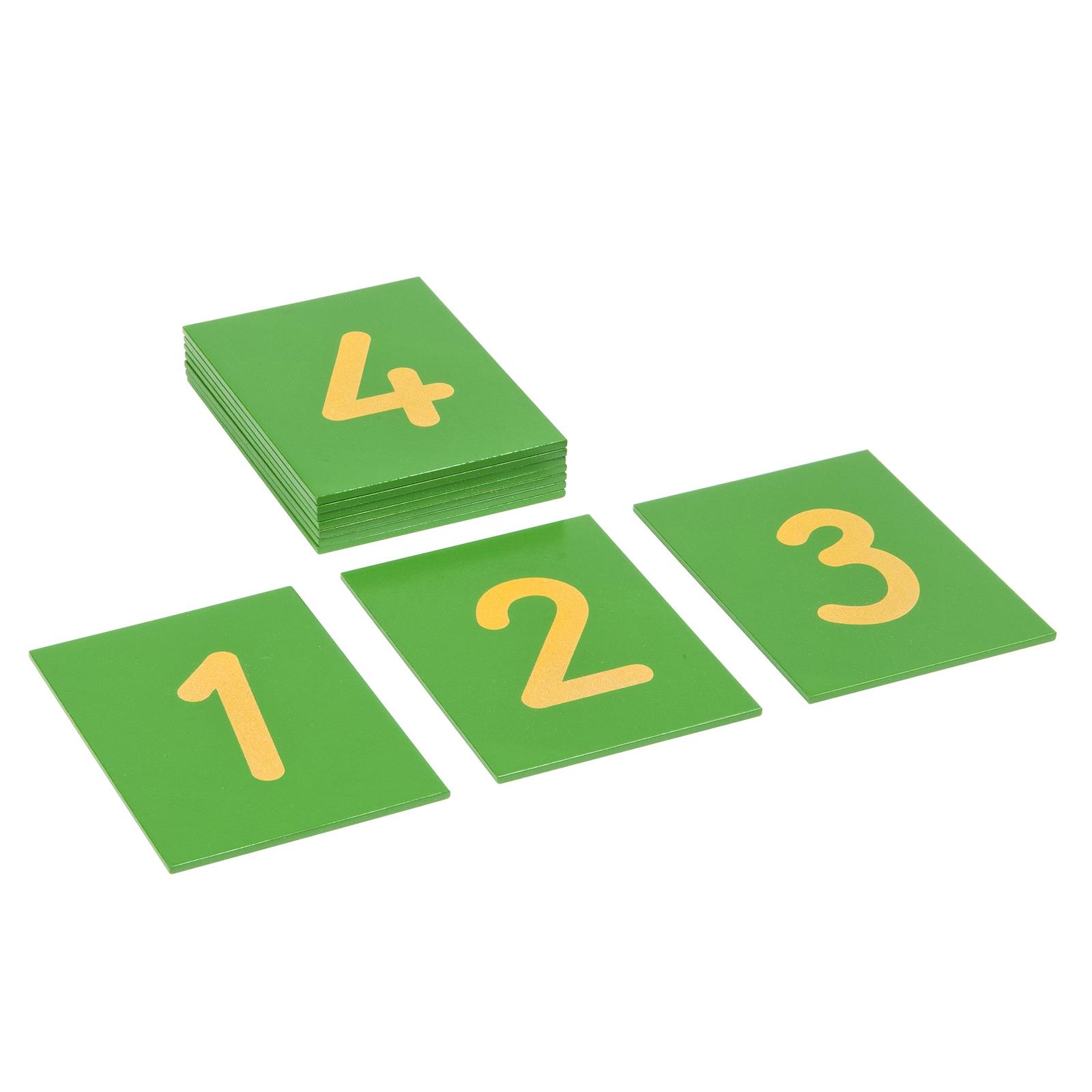 Sandpaper Numerals: International Version