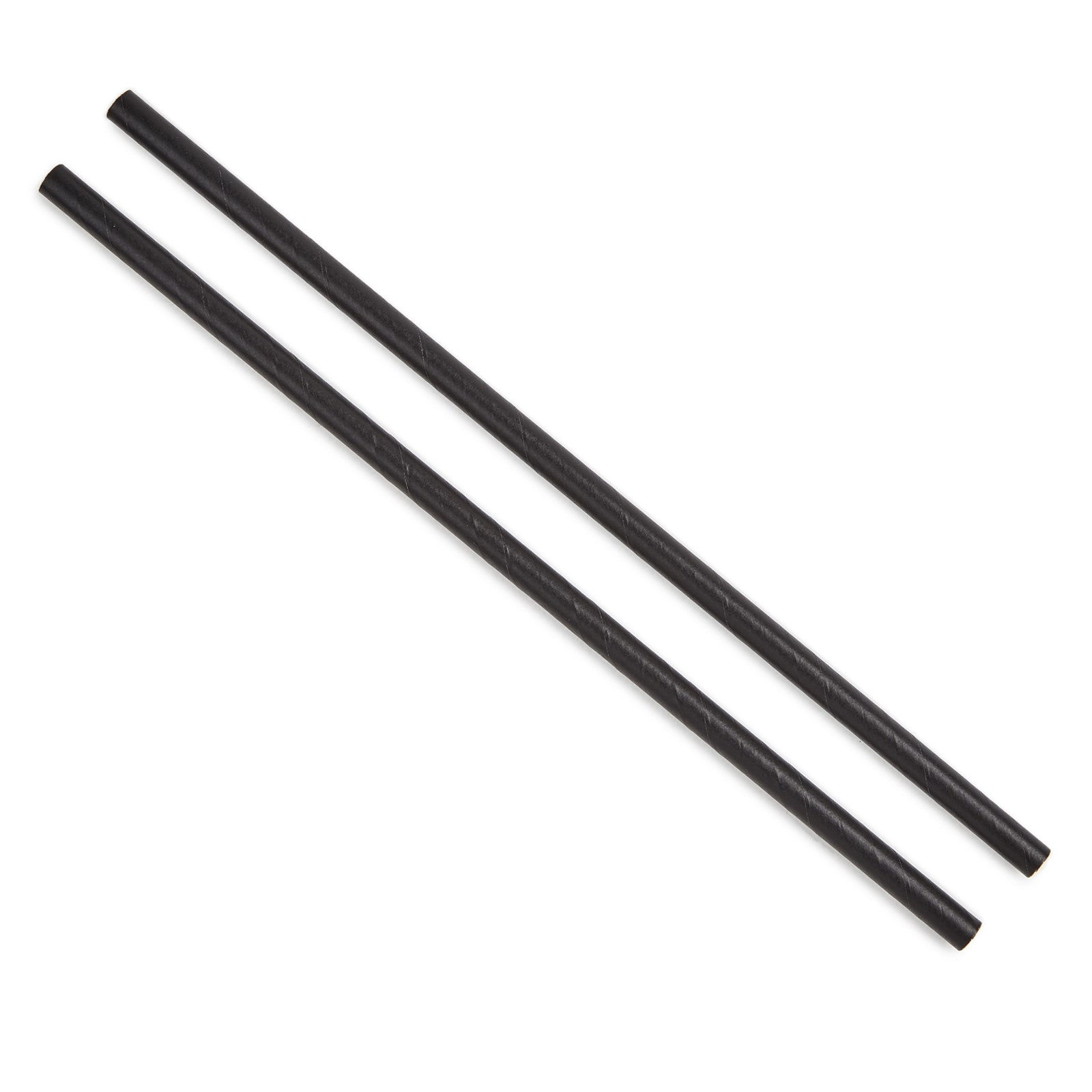 Paper Straw - Black, 6mm P250