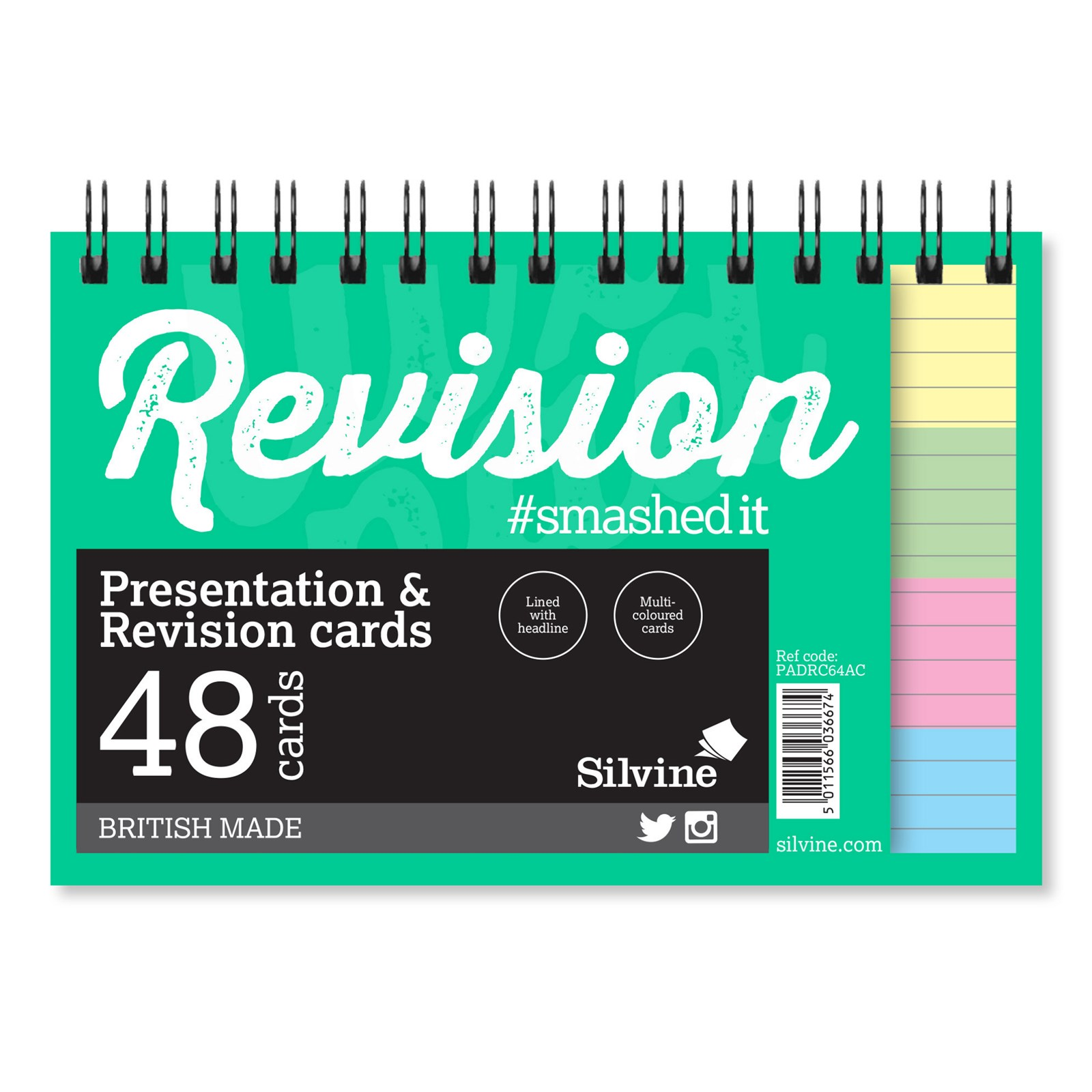 Revision/Presentation 48 Cards- Pack of 10