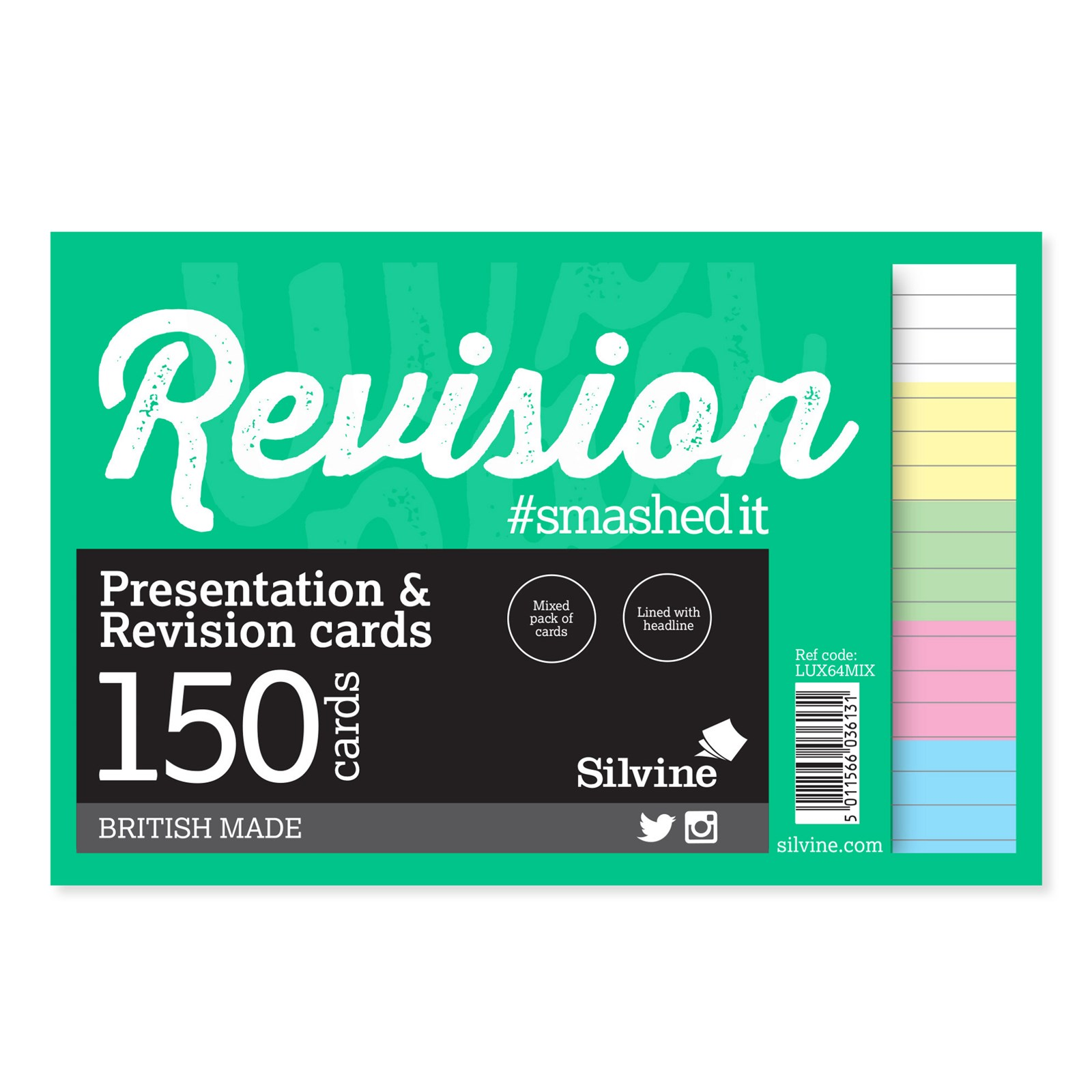 """Revision/Presentation 6"""" x 4""""- Pack of 8"""
