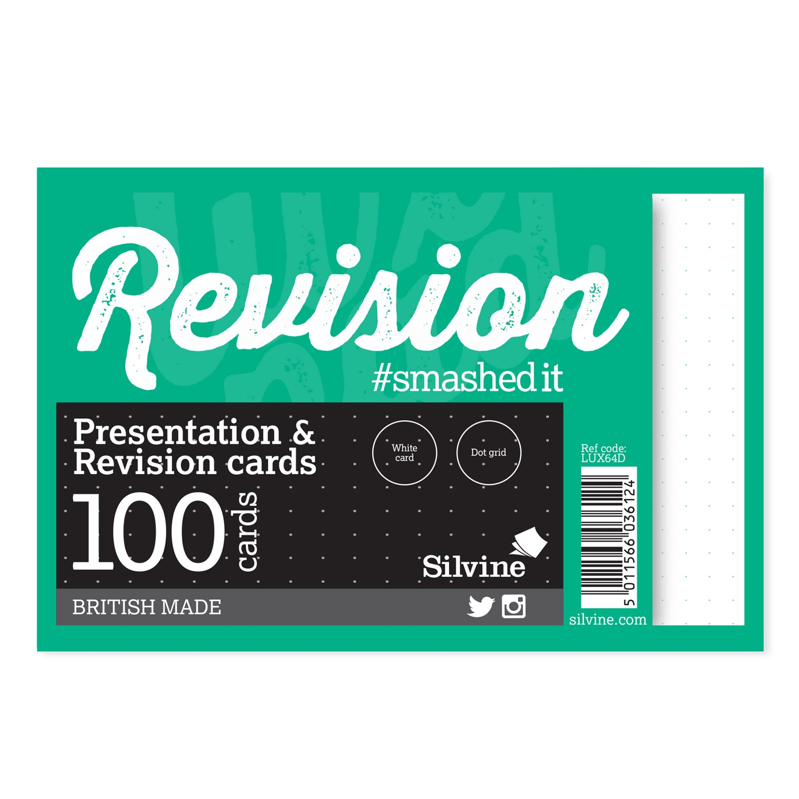 """Revision/Presentation 6"""" x 4""""- Pack of 10"""