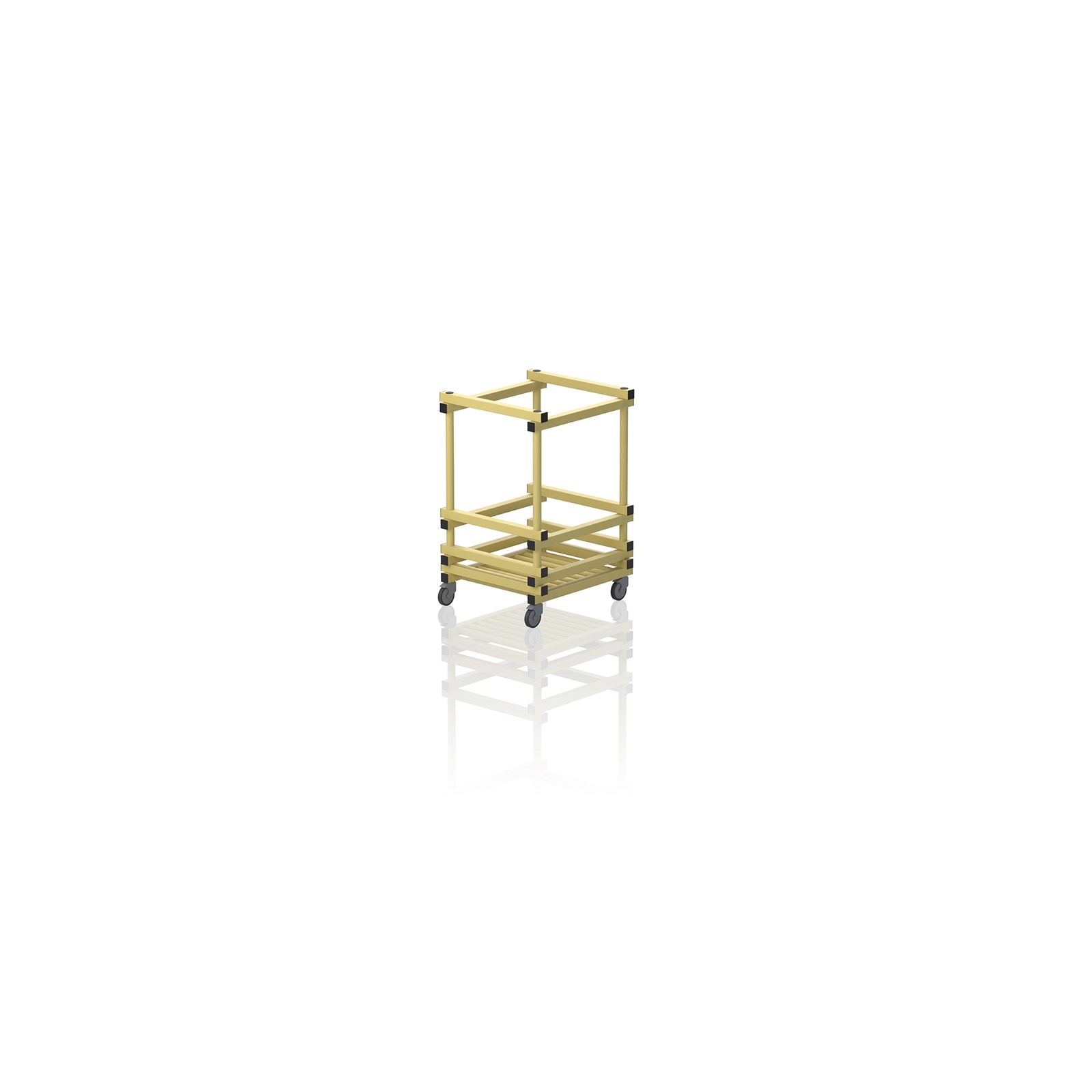 Small Noodle Trolley Yellow