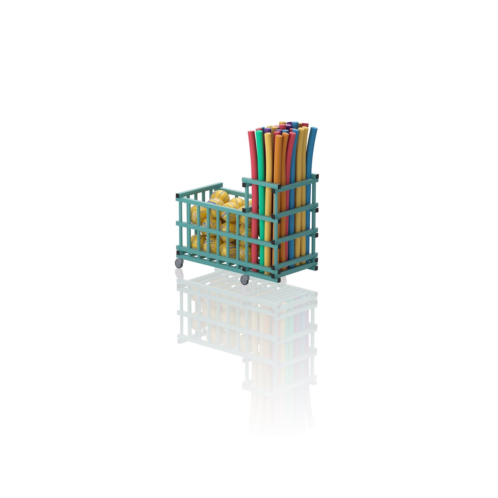 Noodle And Storage Trolley Aqua
