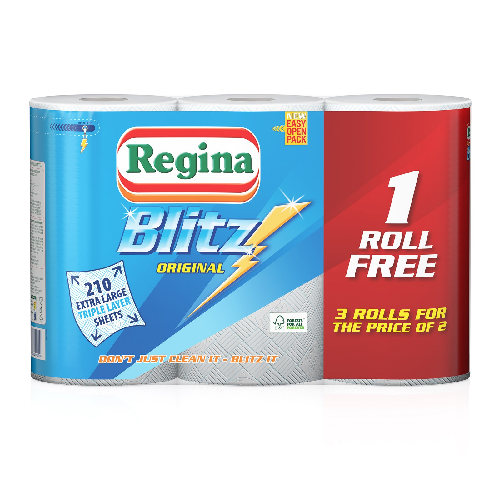 Regina Blitz 3-Ply Kitchen Roll