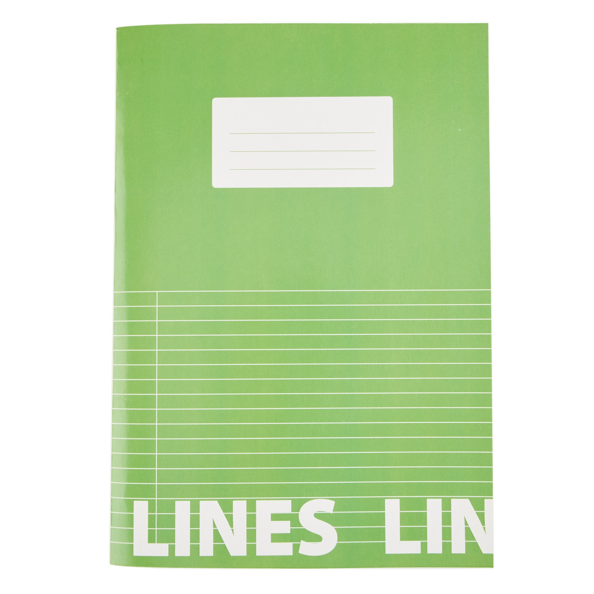 Classmates Green A4 Tough Cover Exercise Books 80-Page 8mm Ruled With Margin (Pack of 50)