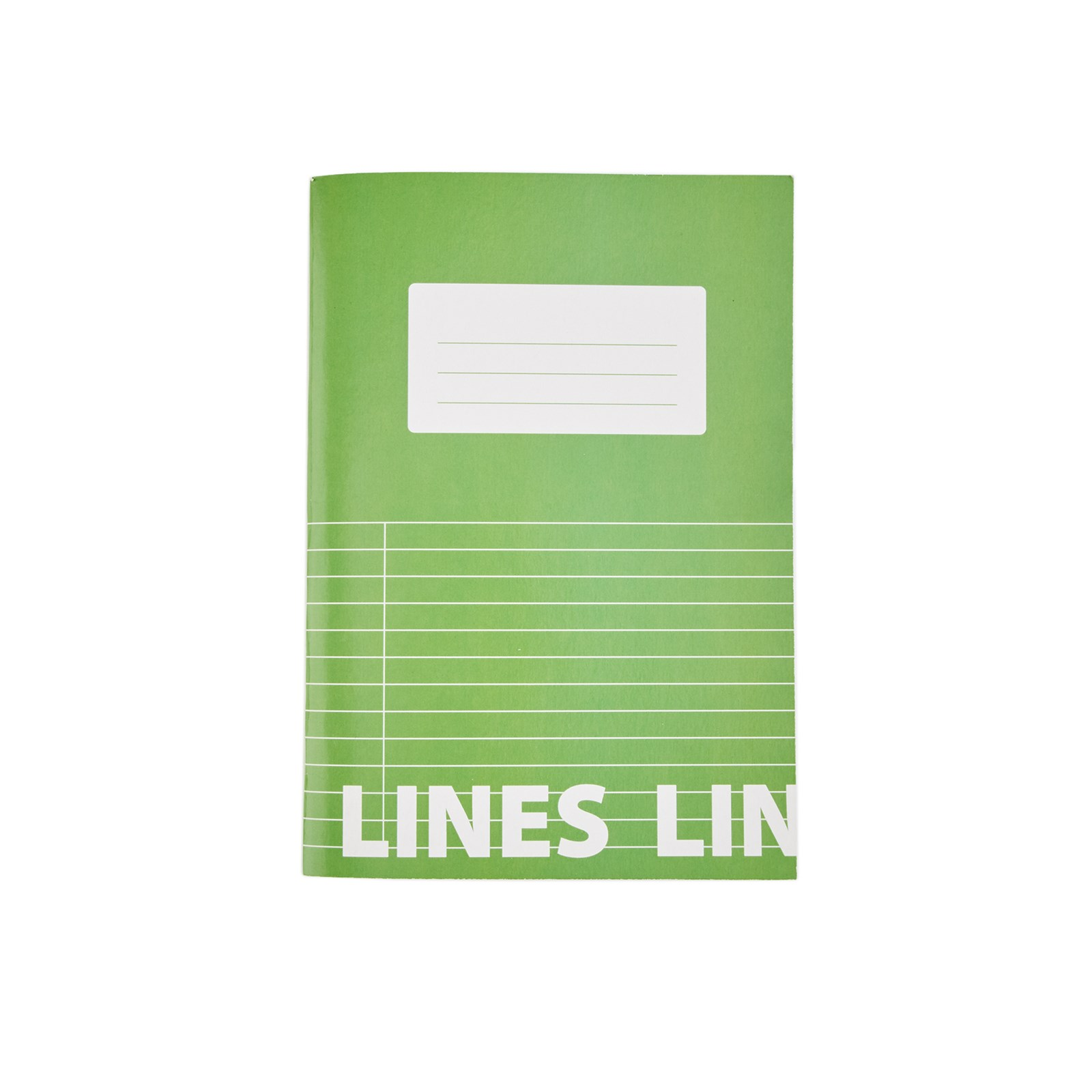 Classmates Green A5 Tough Cover Exercise Books 80-Page, 8mm Ruled With Margin - Pack of 50