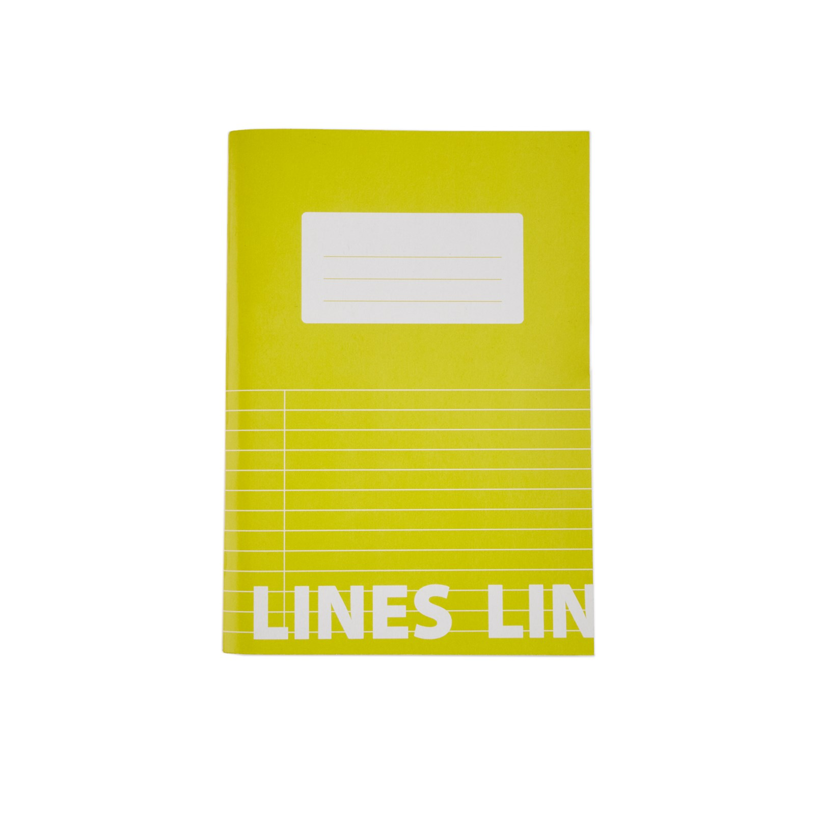 Classmates Yellow A5 Tough Cover Exercise Books 80-Page, 8mm Ruled With Margin - Pack of 50