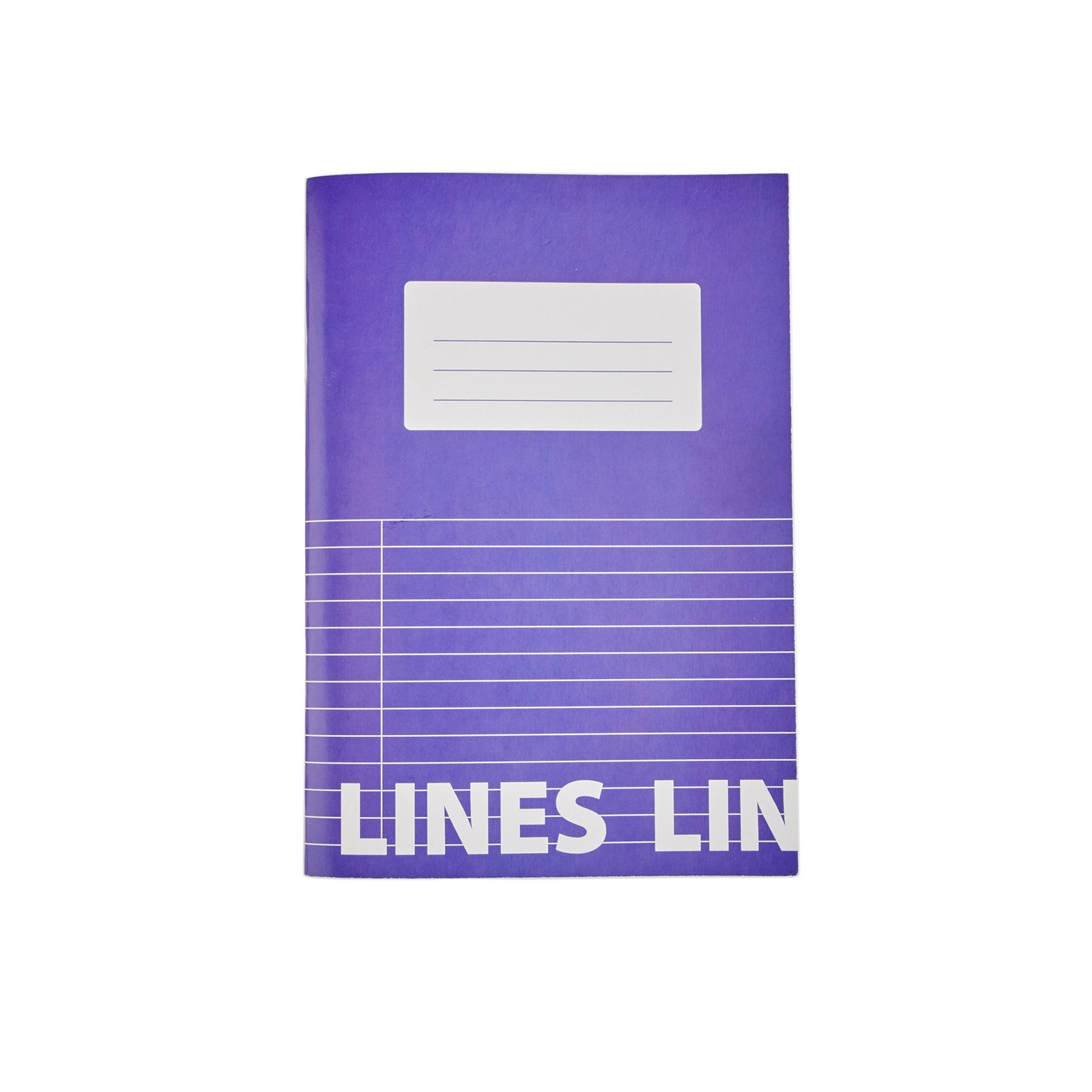 Classmates Purple A5 Tough Cover Exercise Books 80-Page, 8mm Ruled With Margin - Pack of 50