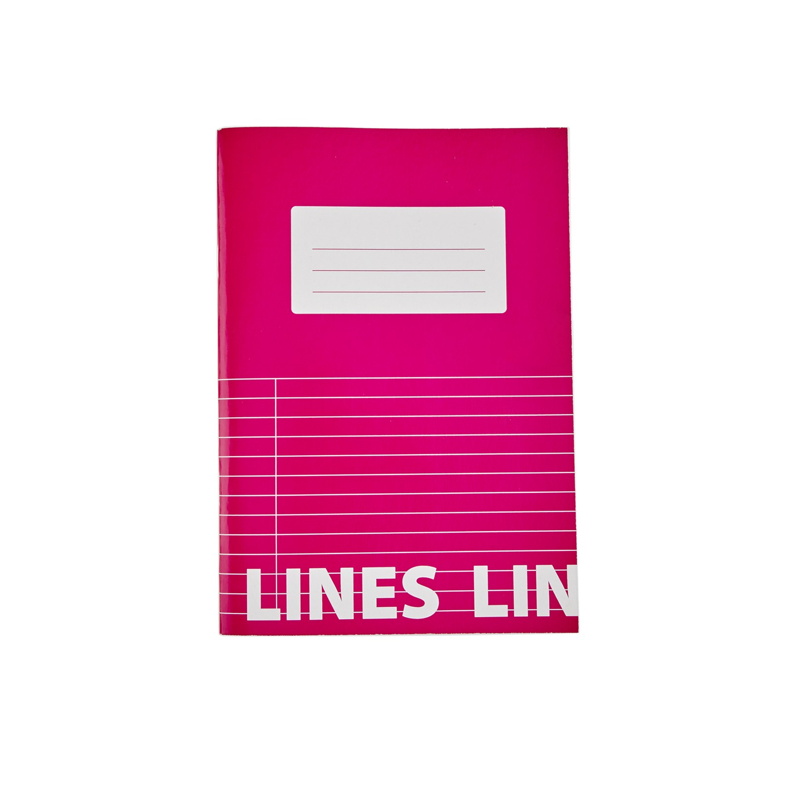 Classmates Pink A5 Tough Cover Exercise Books 80-Page, 8mm Ruled With Margin - Pack of 50