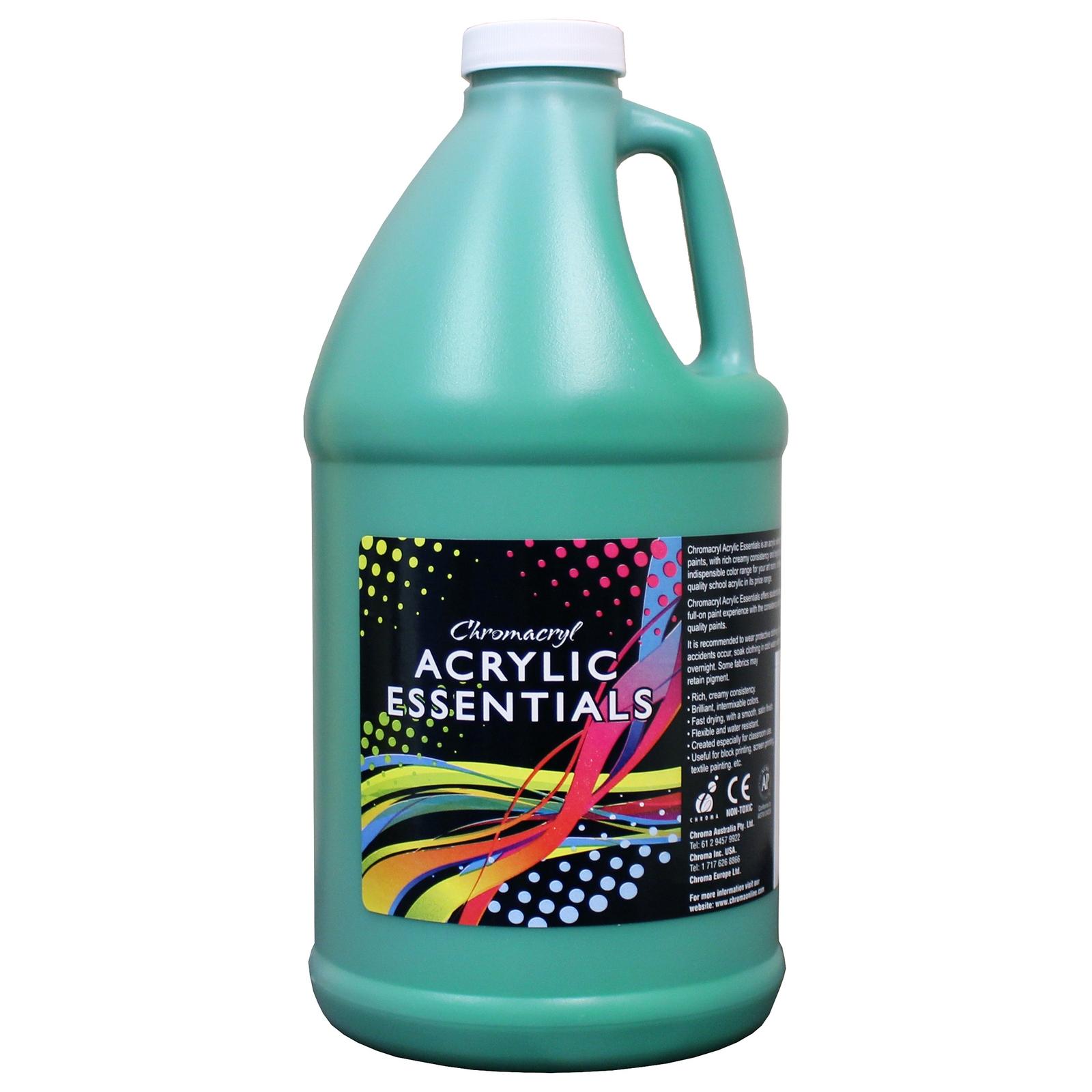 Chromacryl Acrylic Essentials - Green