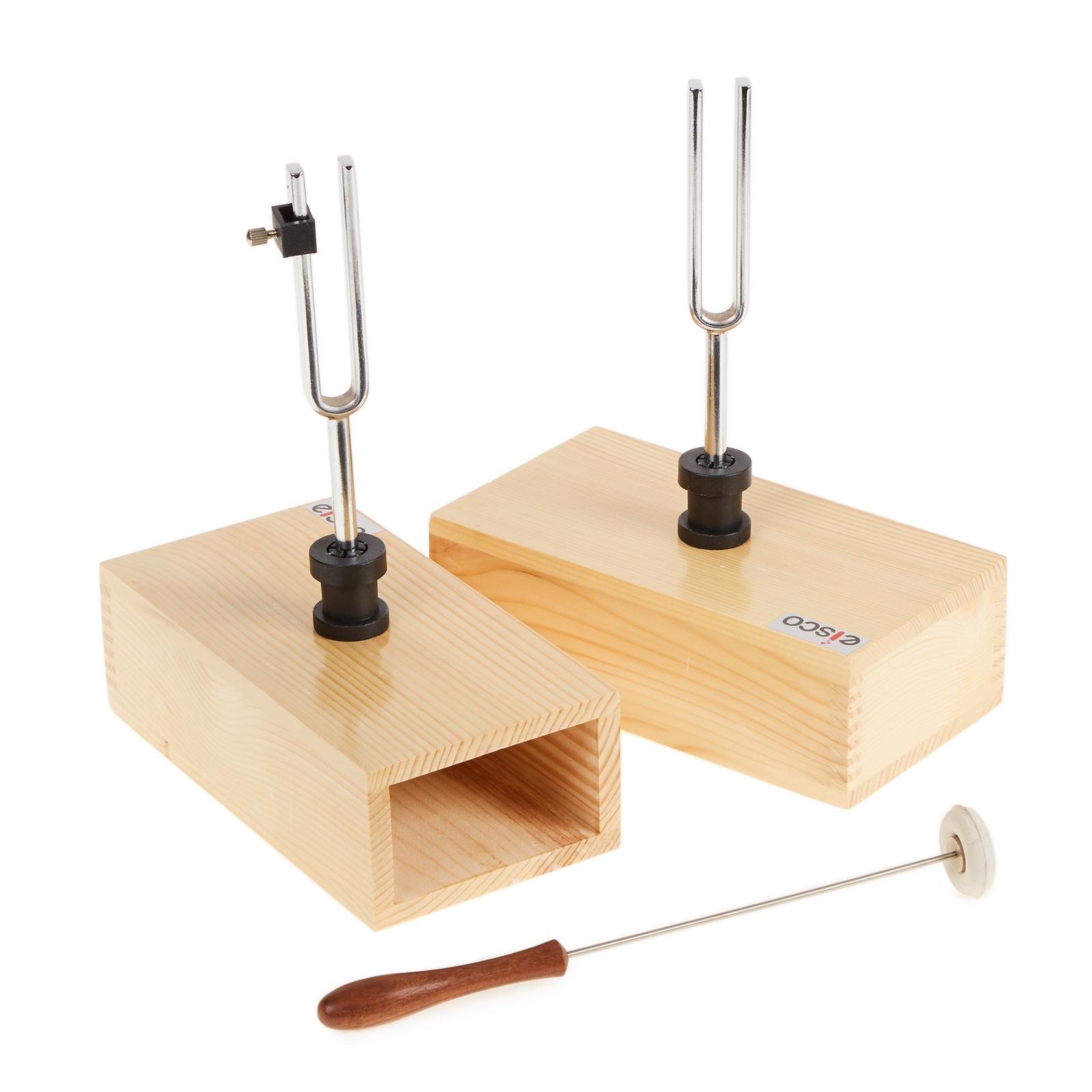 Pair of Tuning Forks - Steel