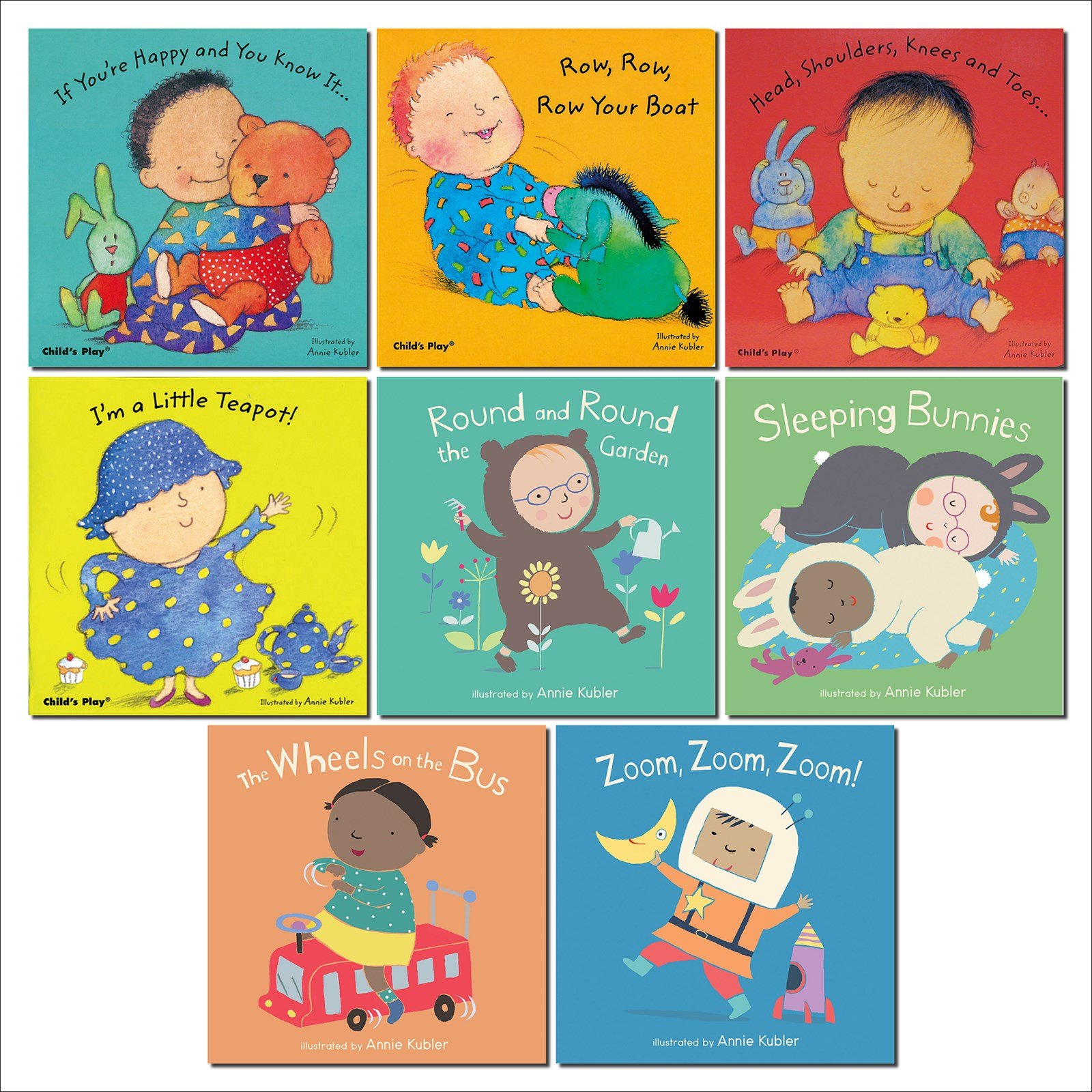 Baby Rhyme Time Board Books