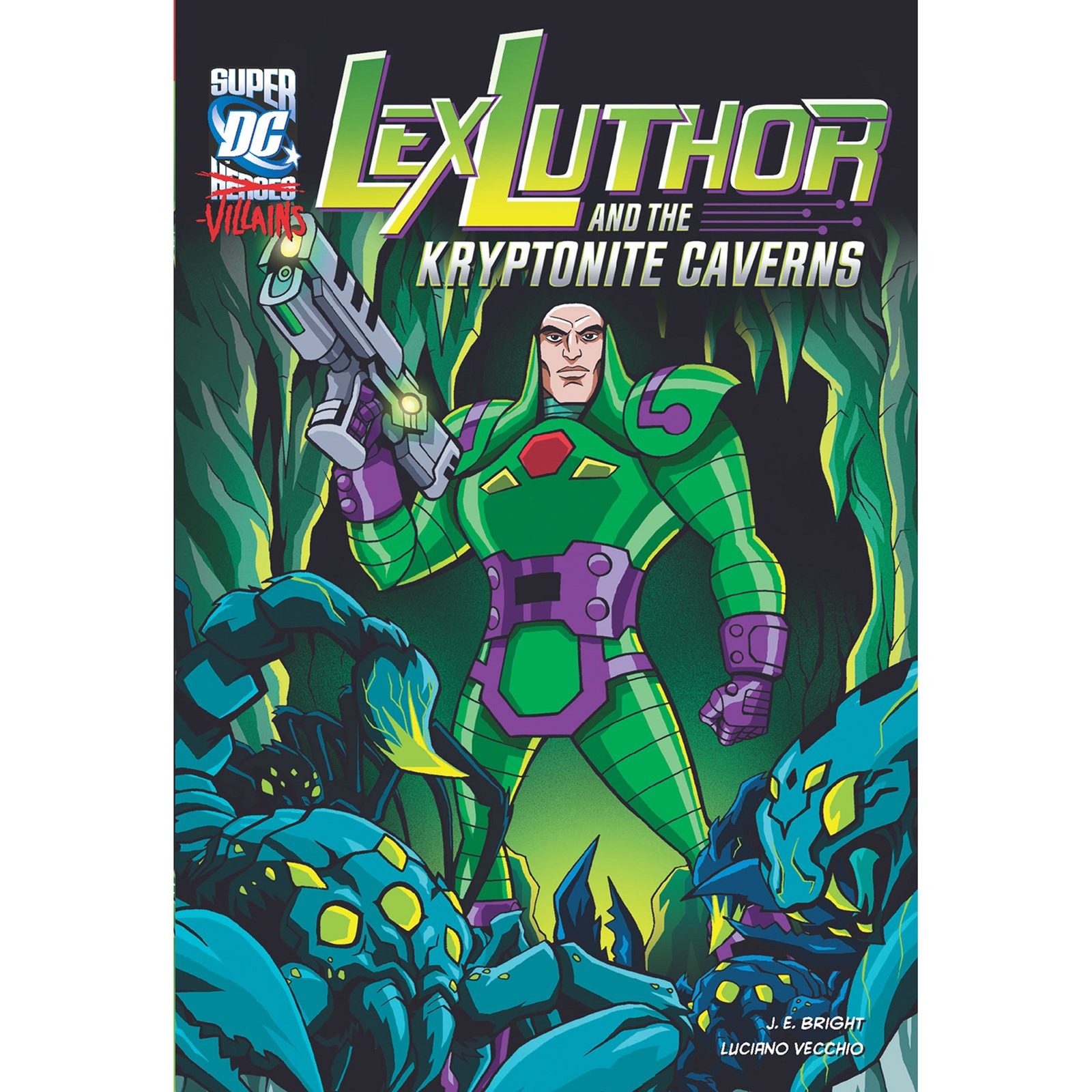 Lex Luther and the Kryptonite Caverrns - Graphic Novel
