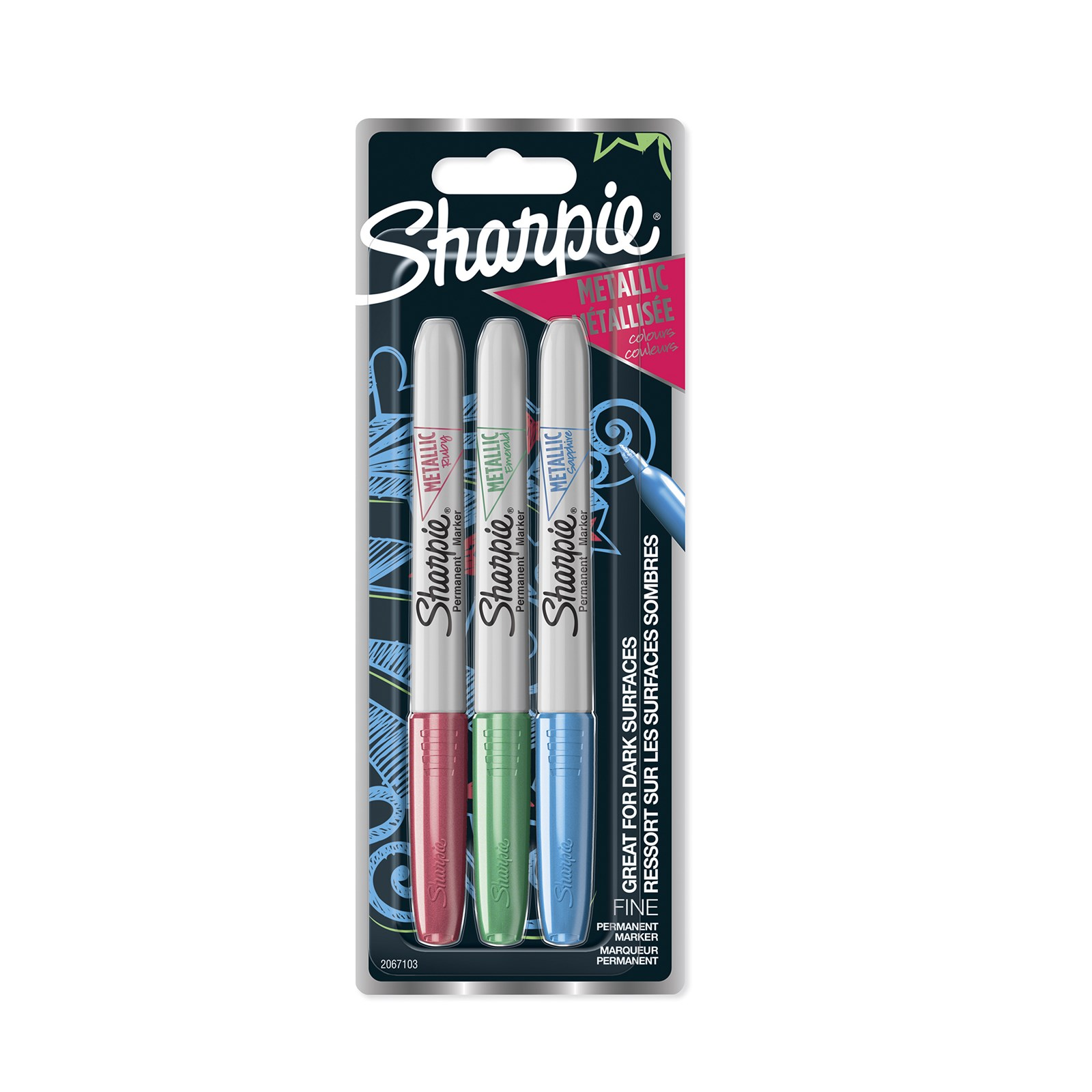 Sharpie® Metallic Permanent Markers
