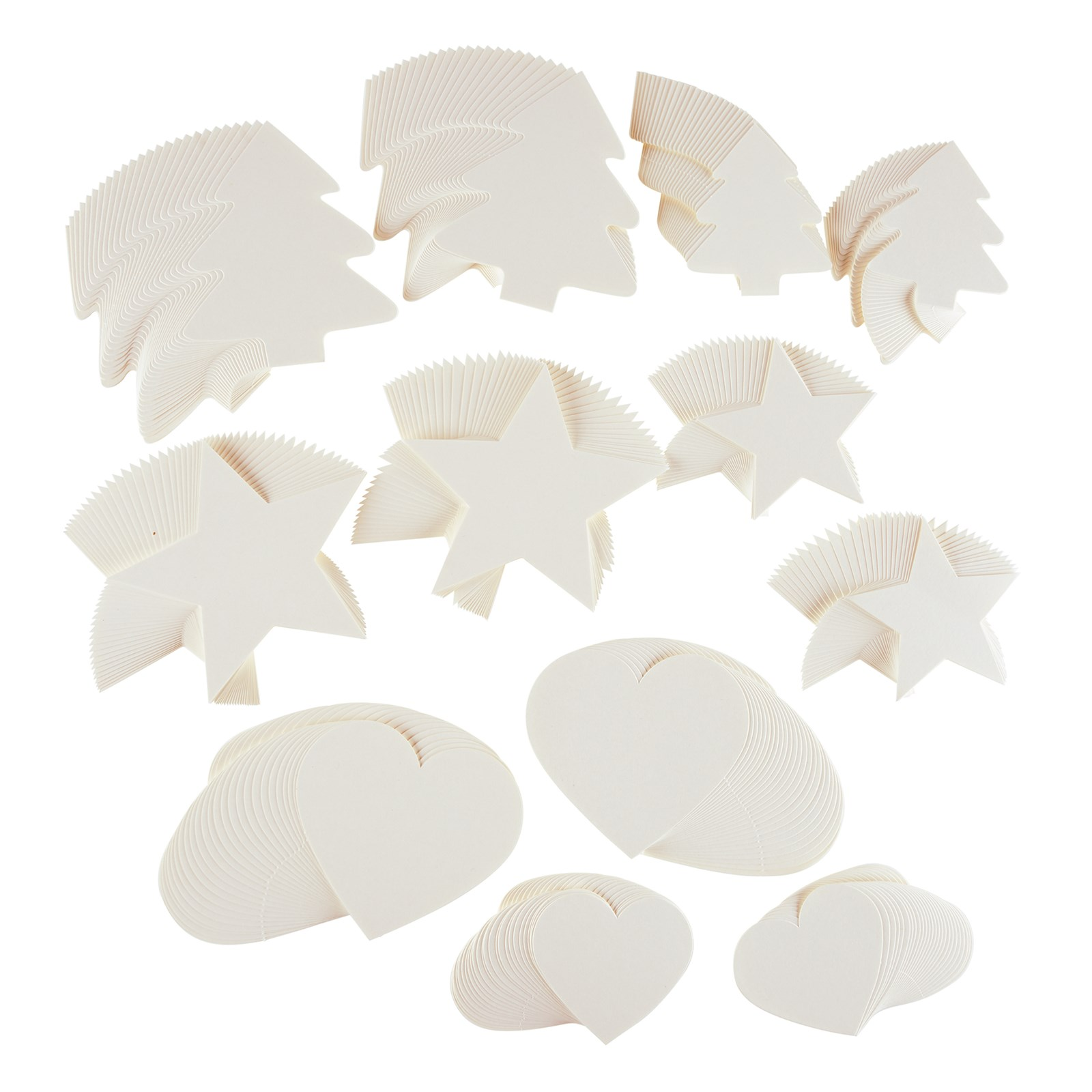 Christmas Shapes Pack of 300