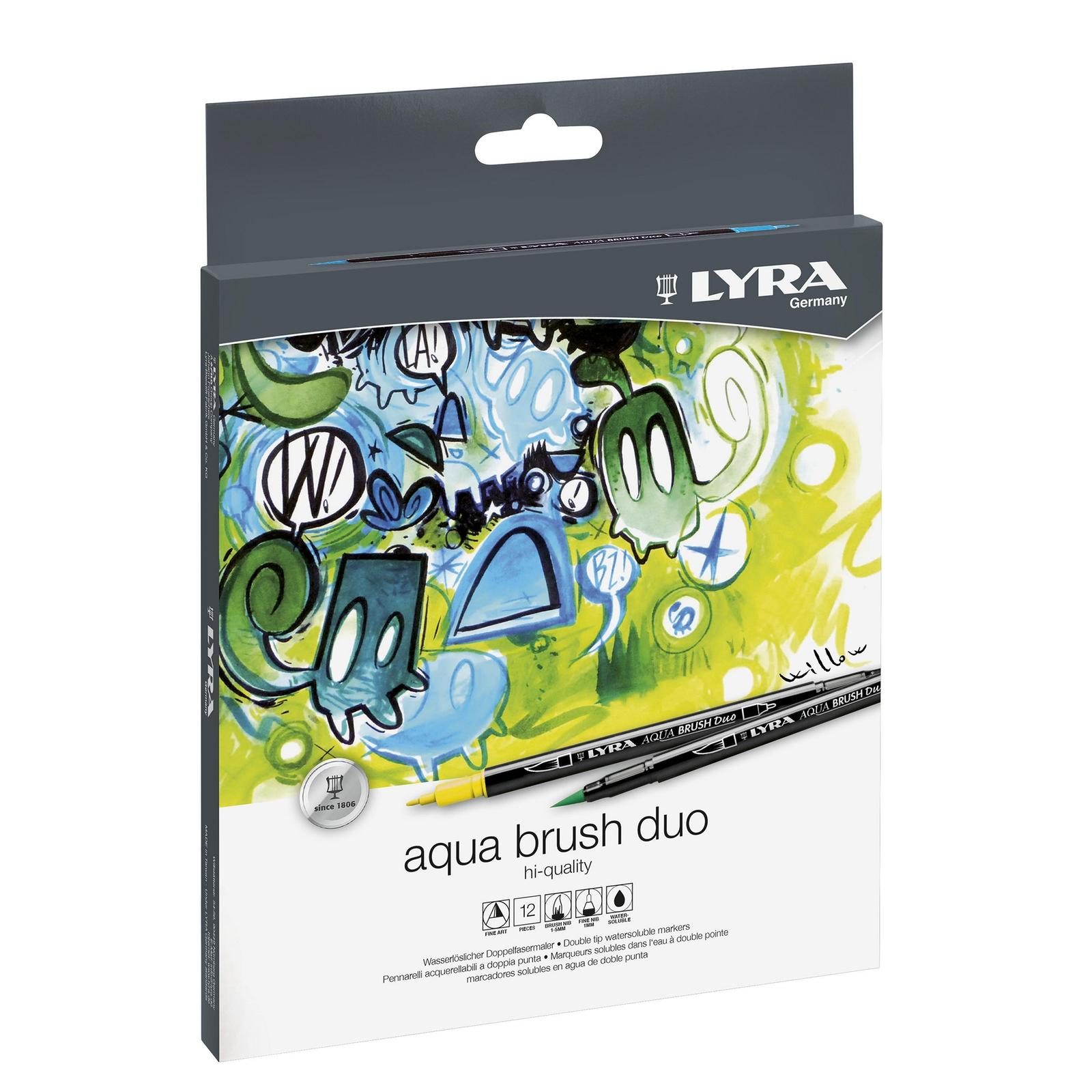 Lyra Artists Aquabrush Duo