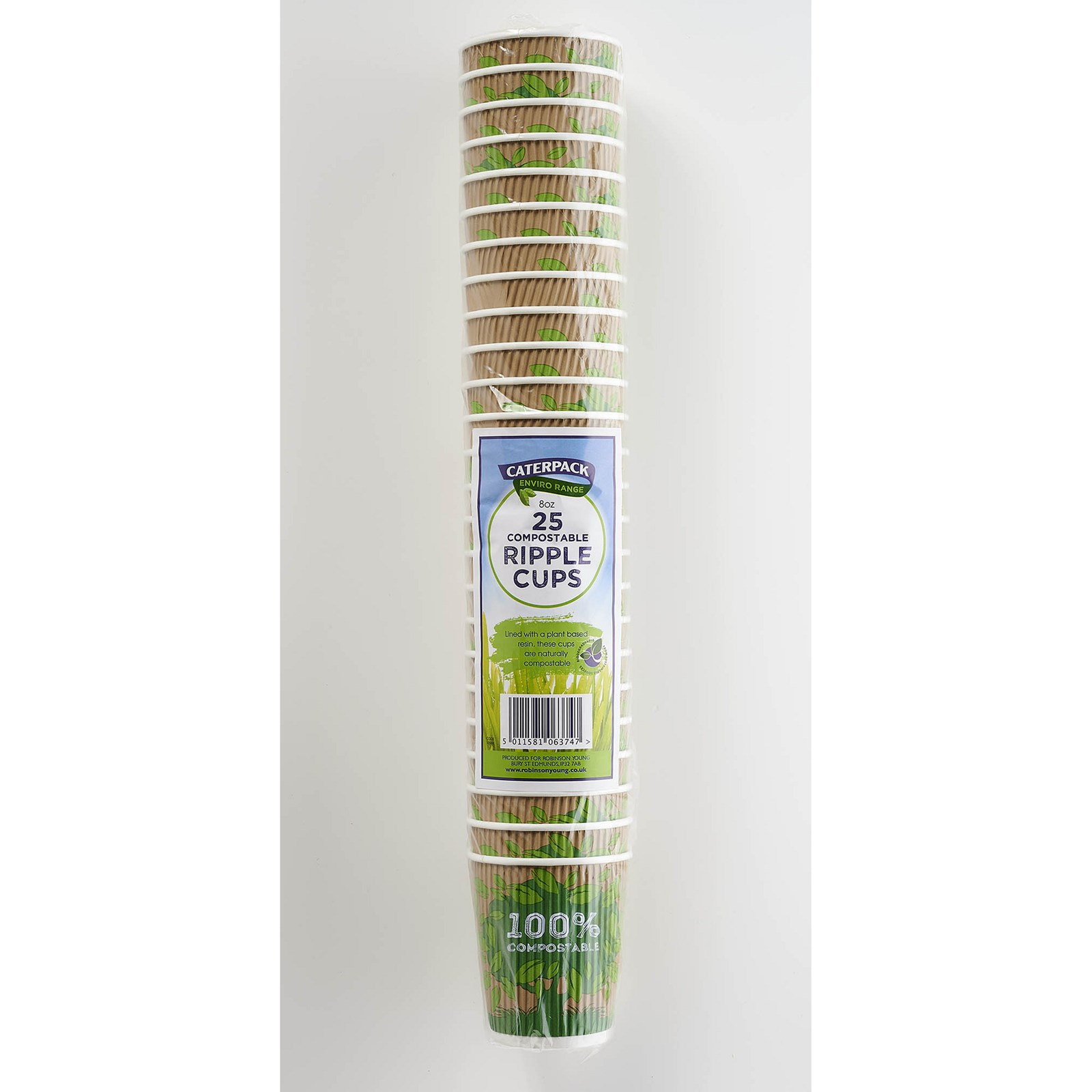 Caterpack 8oz Ripple Cups