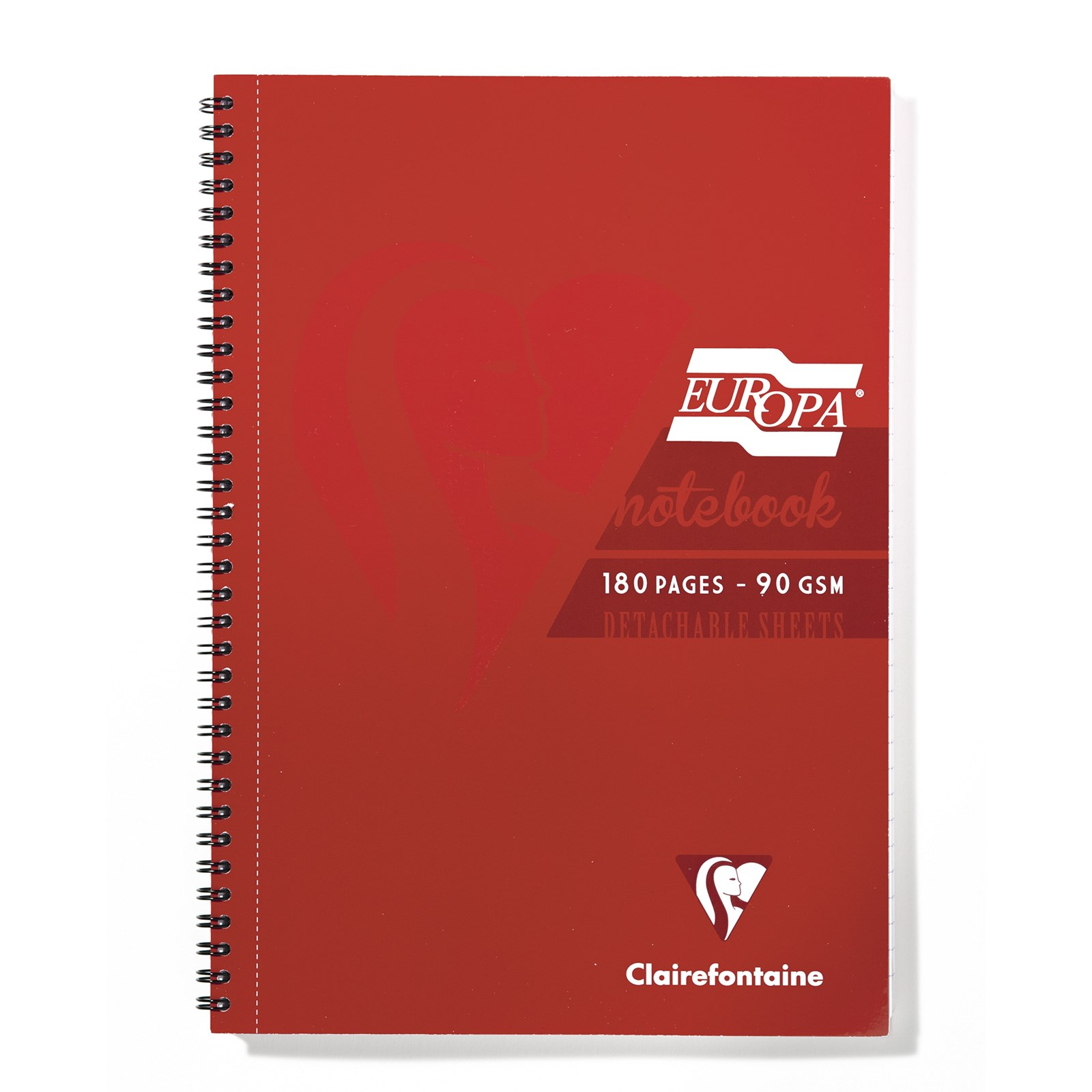 NEW Europa Note Book  - A4 Red