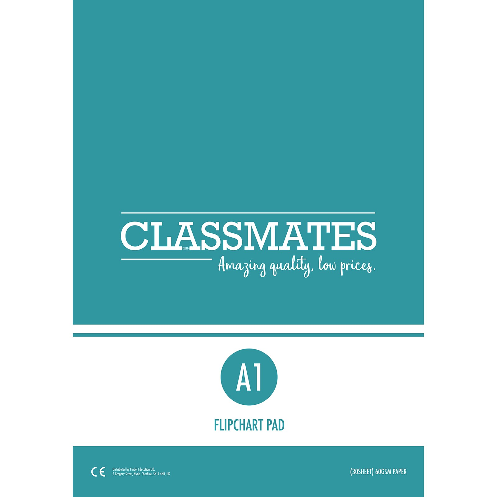 Classmates Plain Flipchart Pads