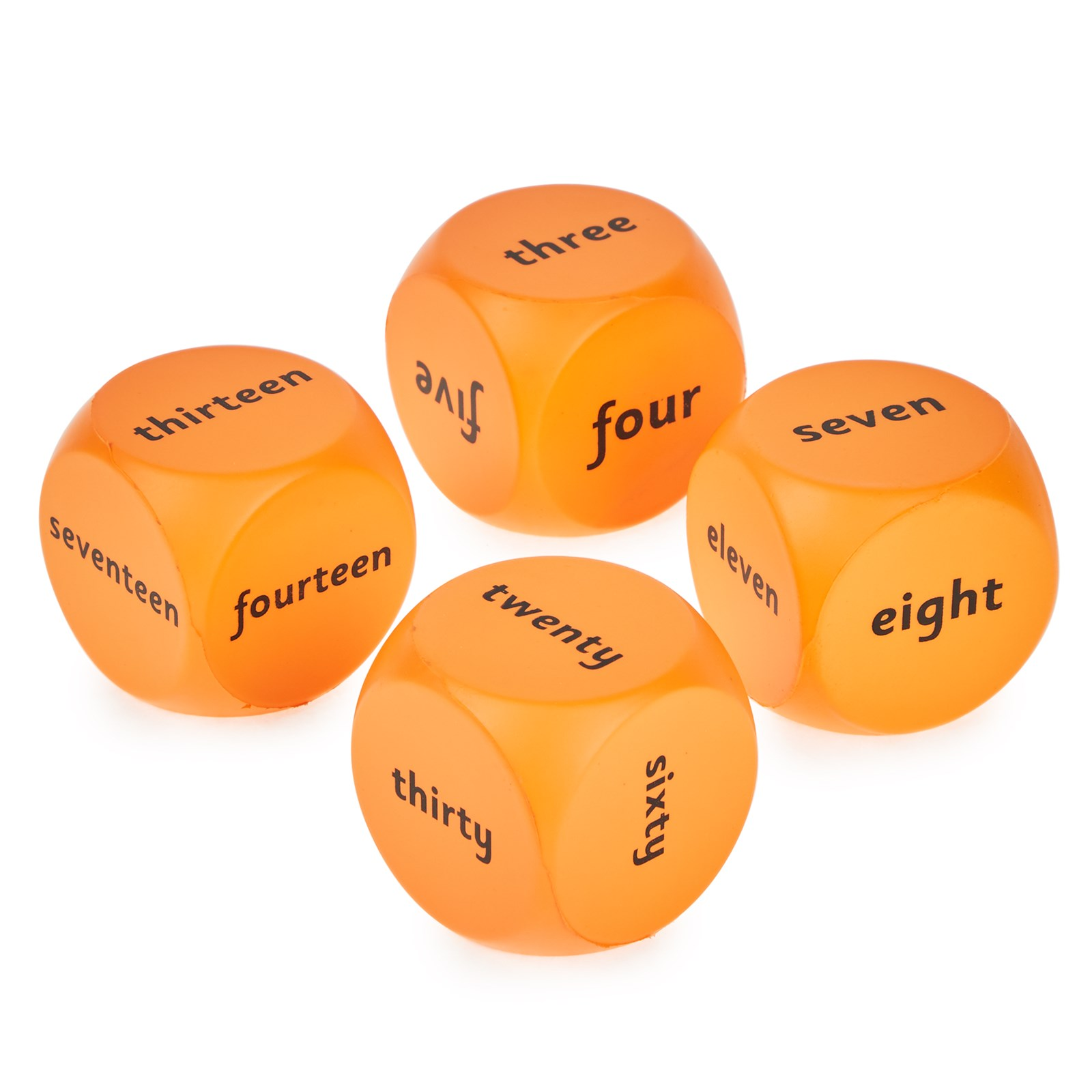 Number Recognition Cubes