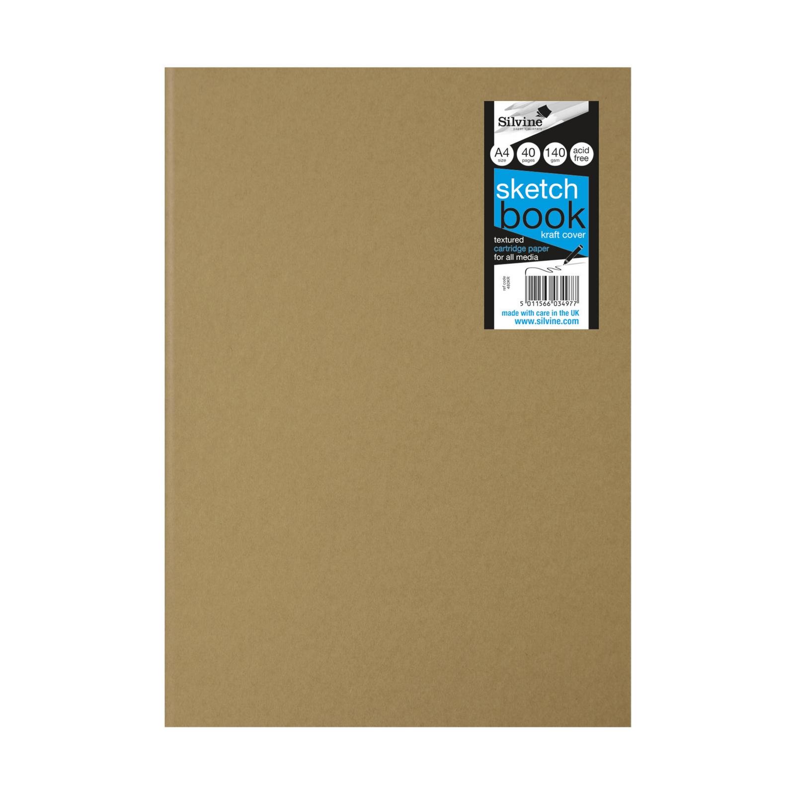 Kraft Stapled Sketchbooks - A4