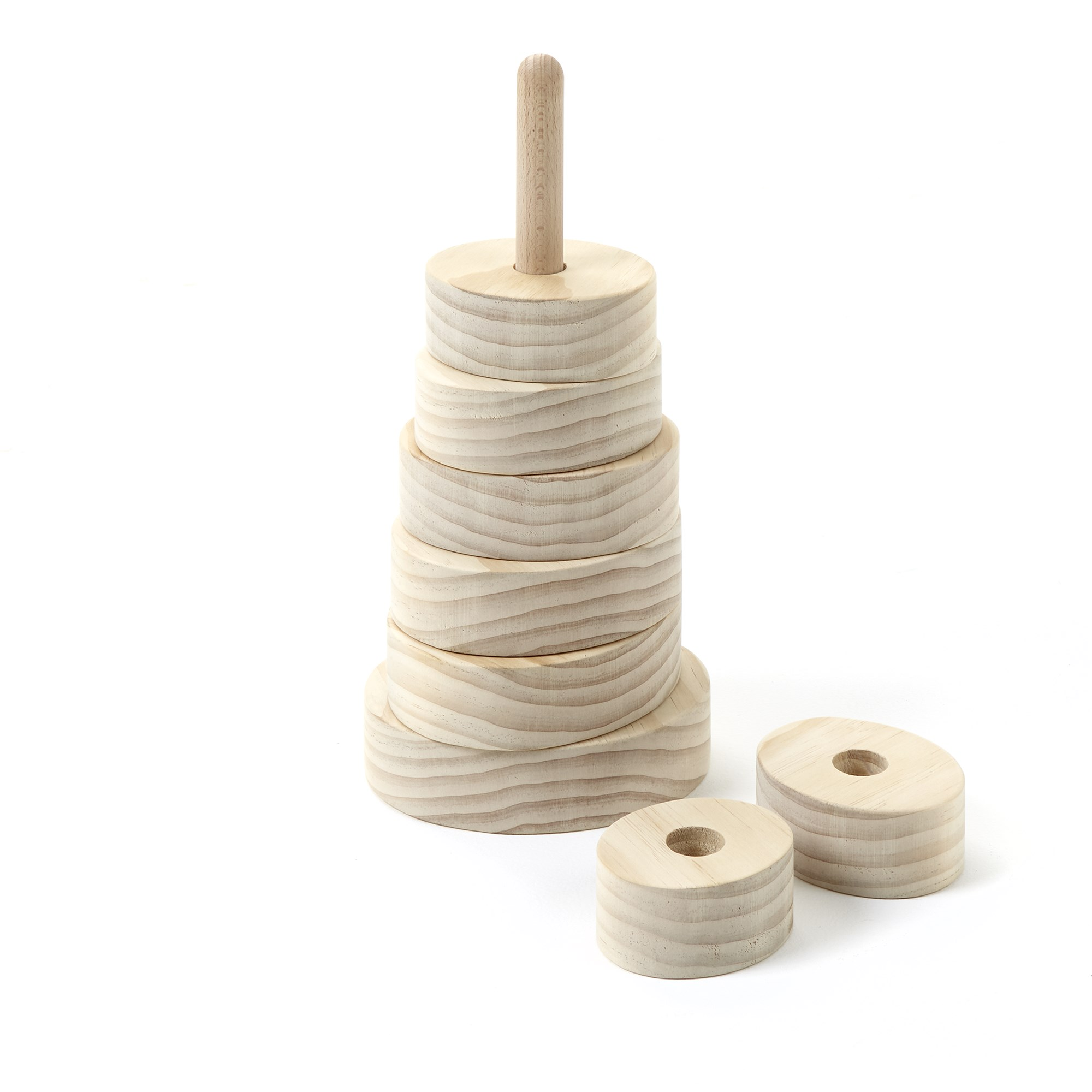 Wooden Oval Stacker from Hope Education