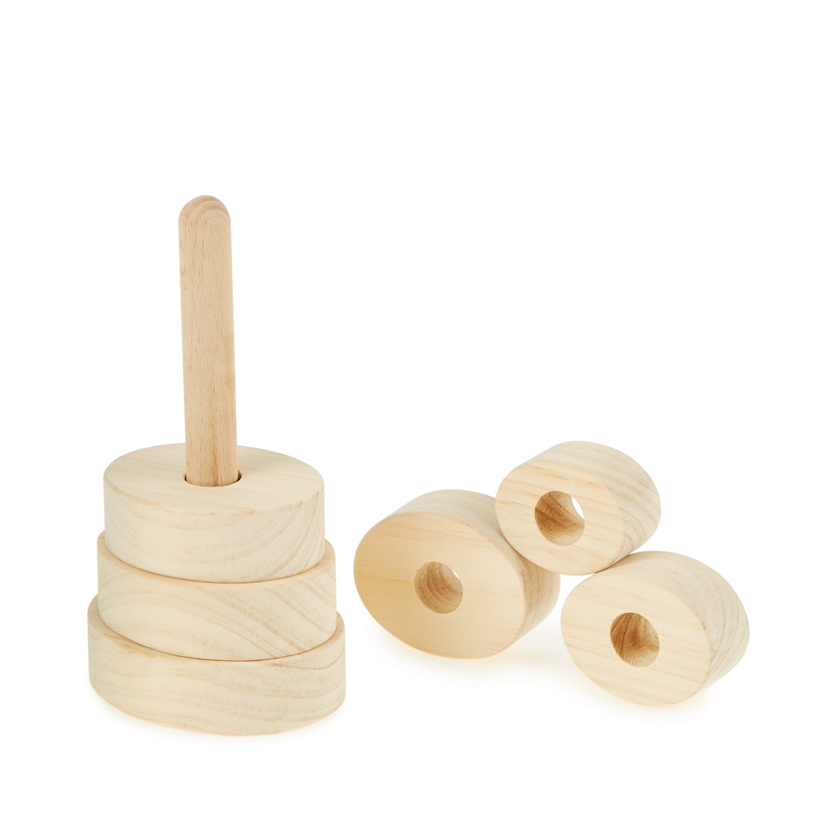 Small Wooden Oval Stacker from Hope Education