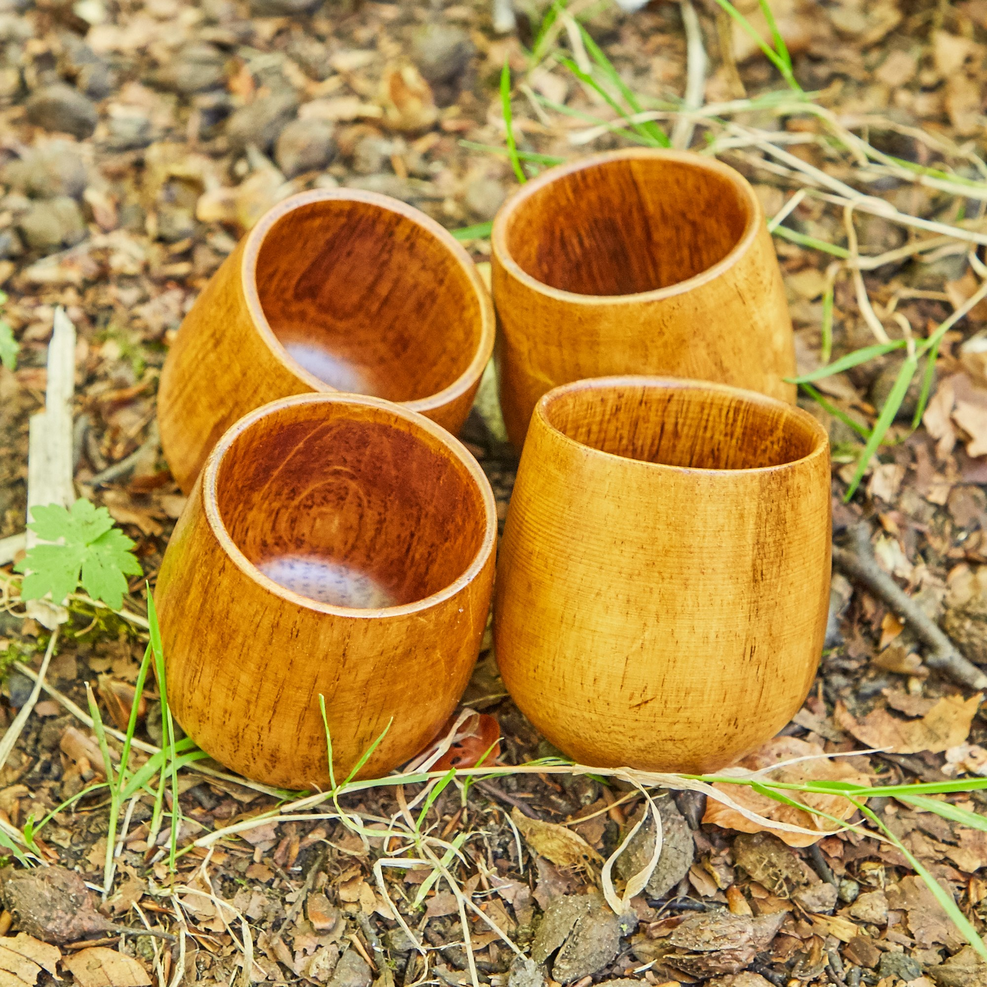 Wooden Tumblers (Pack of 4)