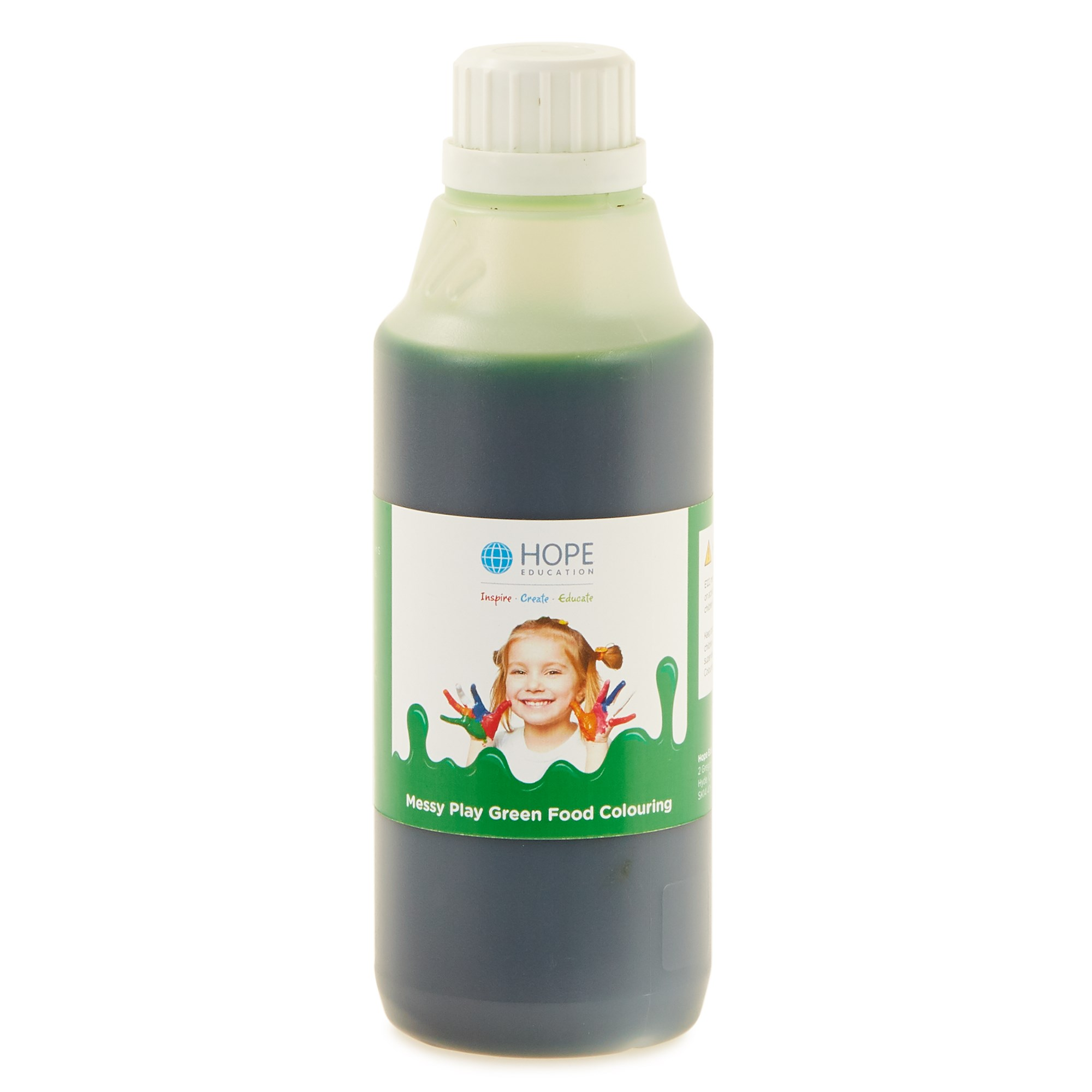 Messy Play Food Colouring 500mL Green