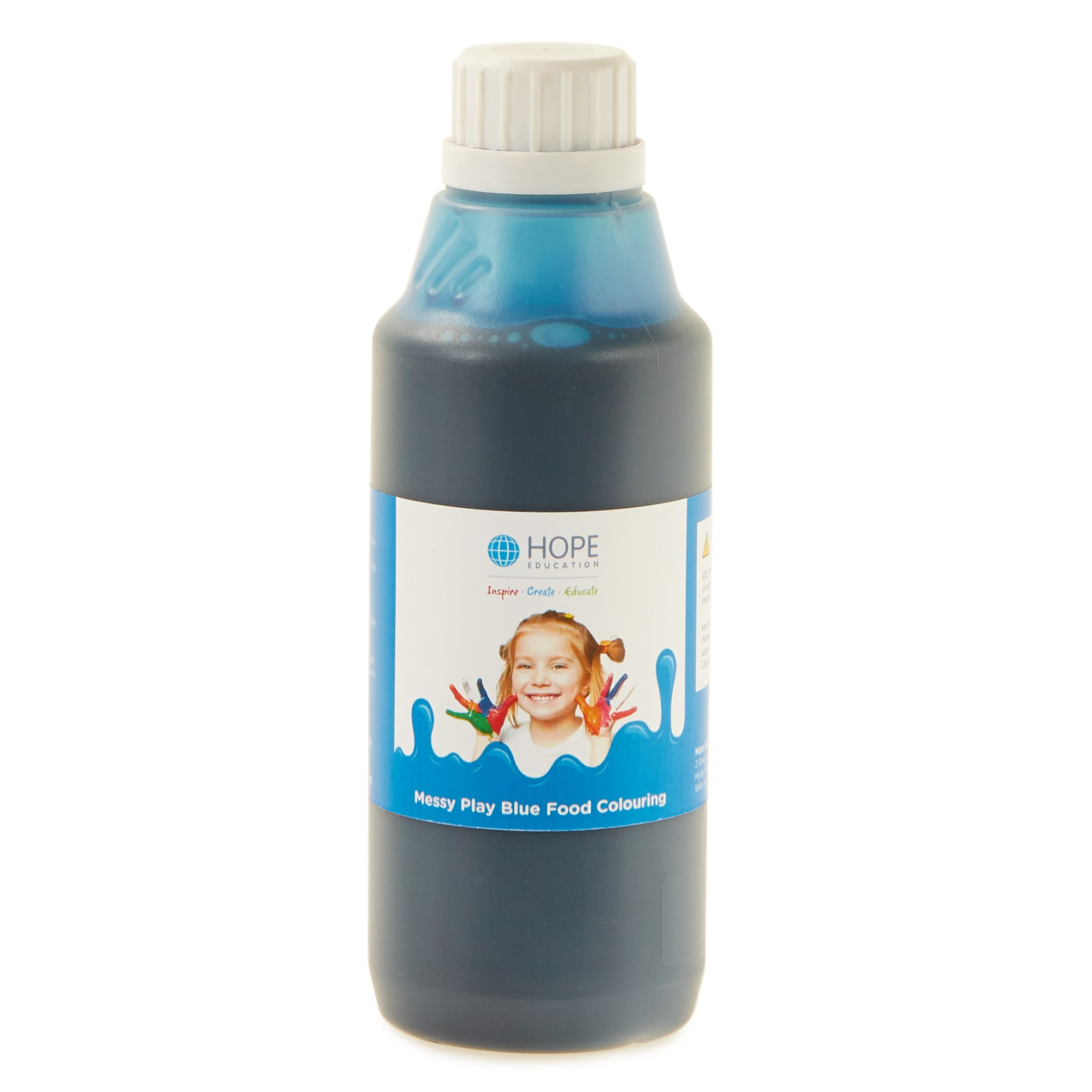 Messy Play Food Colouring 500mL Blue