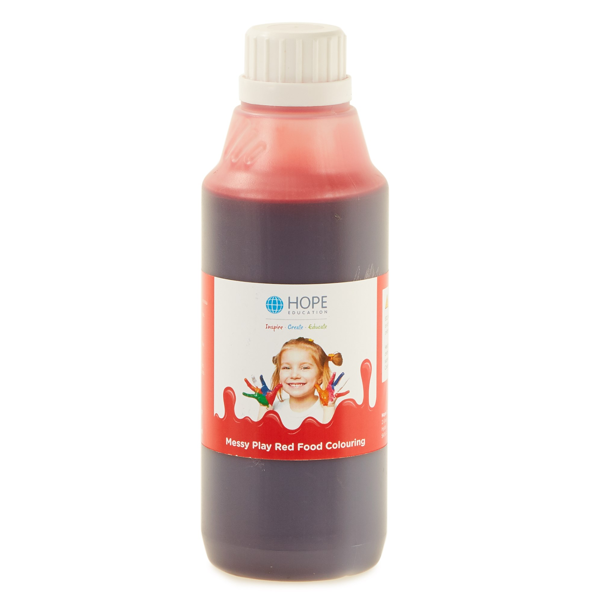 Messy Play Food Colouring 500mL Red