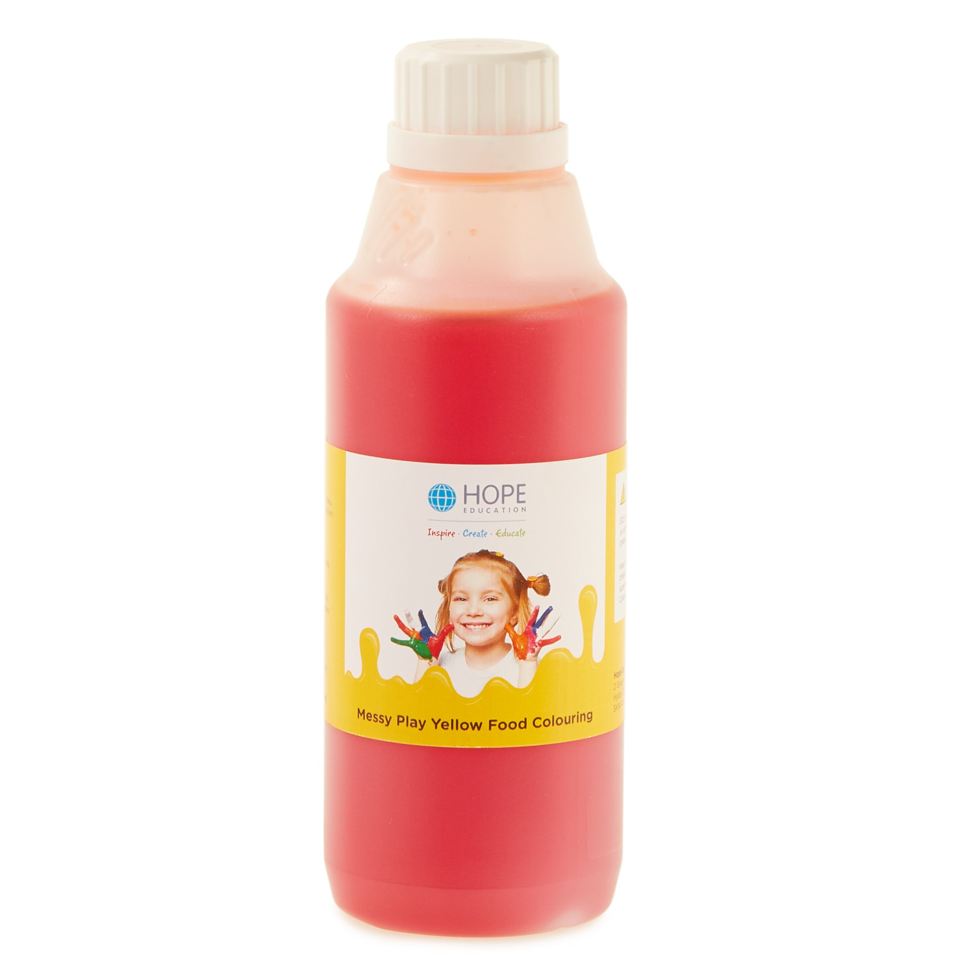 Messy Play Food Colouring 500mL Yellow